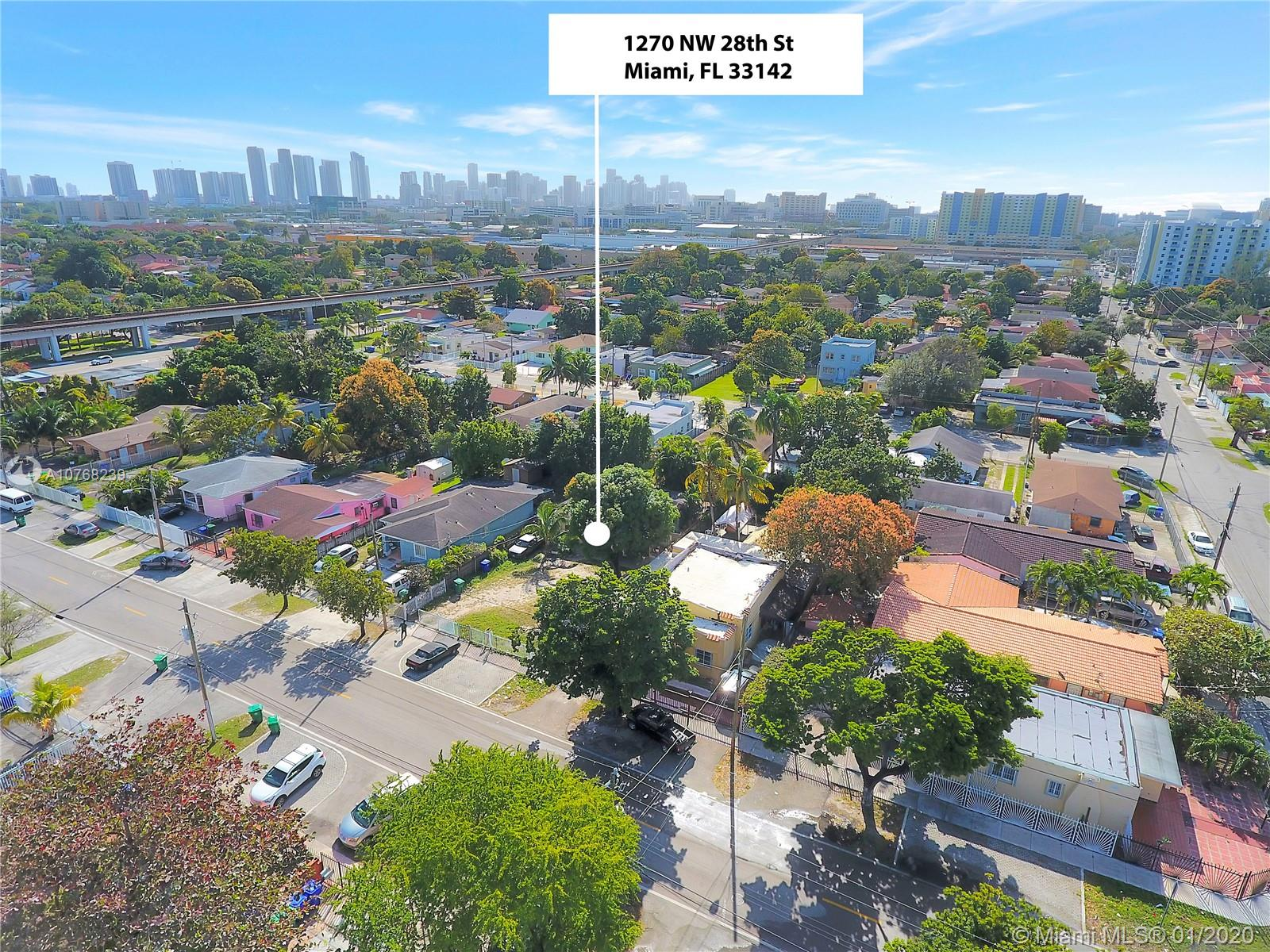 1270 NW 28th St  For Sale A10768239, FL