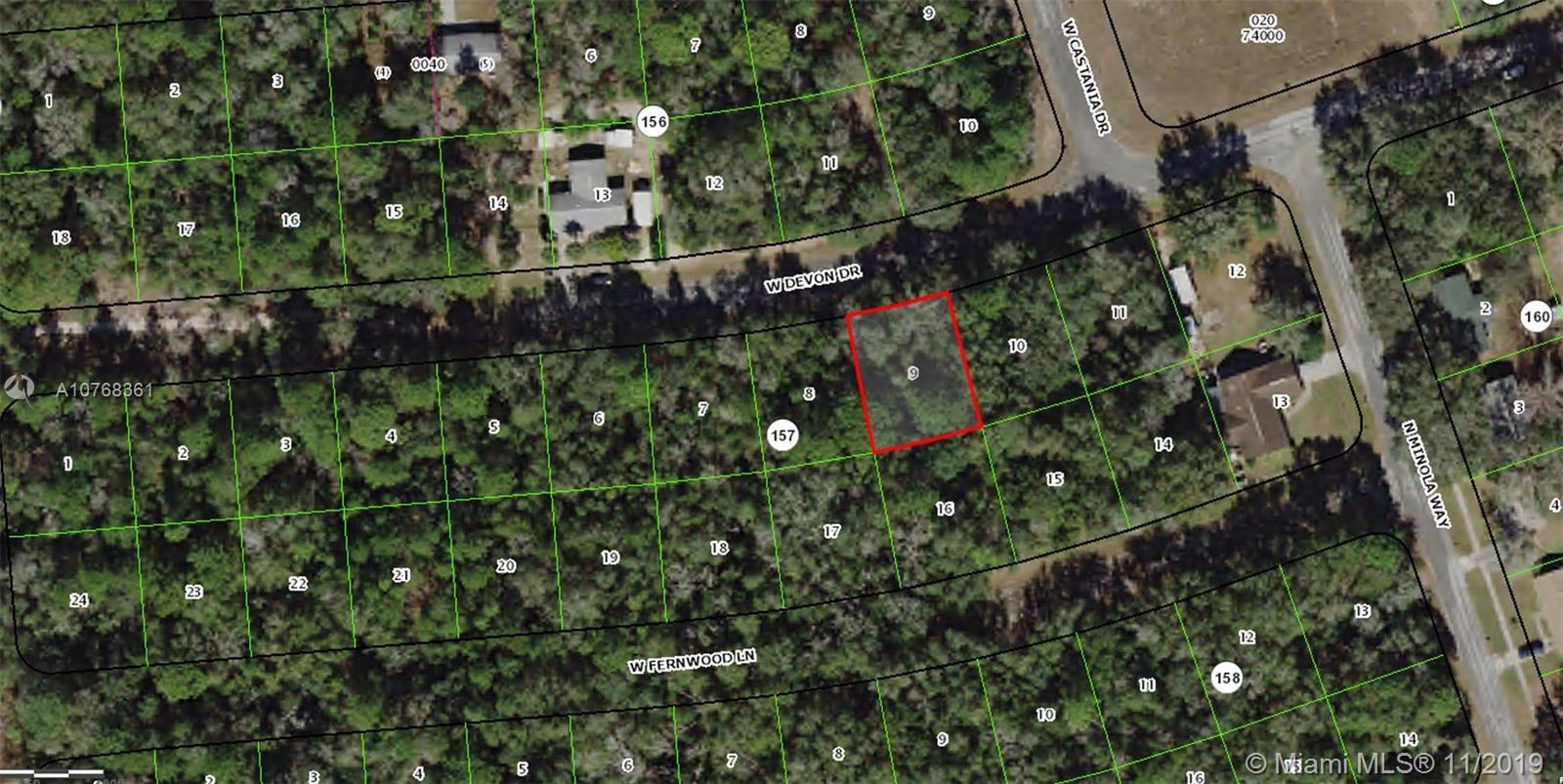 2404 W Devon Dr LOT 9, Other City - In The State Of Florida, FL 34434