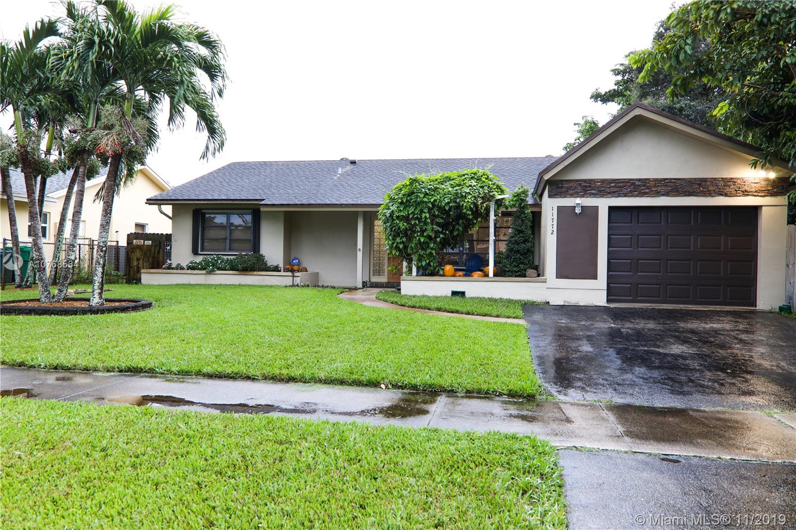 A TRUE GEM IN THE HEART OF THE IDYLIC FLAMINGO GARDENS IN COOPER CITY! YOU WILL FALL IN LOVE WITH THIS IMPECCABLE AND RELAXING CORNER HOUSE W/PLENTY OF NATURAL LIGHT. THIS STUNNING, TOTALLY REMODELED, METICULOUSLY WELL-MAINTAINED HOME W/ UPGRADED FINISHES, 3 BEDS, 2 FULL BATHS, TILE THROUGHOUT. COZY MASTER SUITE w/CUSTOM-MADE MASTER CABANA BATH. HUGE WALK-IN CLOSET.  SPACIOUS FAMILY ROOM, 3RDBEDROOM IS A LEGALLY CONVERTED GARAGE. CUSTOM-MADE KITCHEN W/GRANITE COUNTER TOPS, STAINLESS-STEEL APPLIANCES, CHANGING LED LIGHTS INSIDE THE CABINETRY. SEPARATE LAUNDRY ROOM. PRIVATE SCREENED-IN PORCH, SURROUNDED BY A FENCED BACKYARD OASIS W/CUSTOM-MADE SALT WATER SMART POOL W/CASCADE. PERFECT FOR ENTERTAINING. MINUTES TO I75 AND 595. NO HOA. A+ SCHOOLS. READY TO MOVE IN! *CALL THIS HOUSE YOUR HOME!*