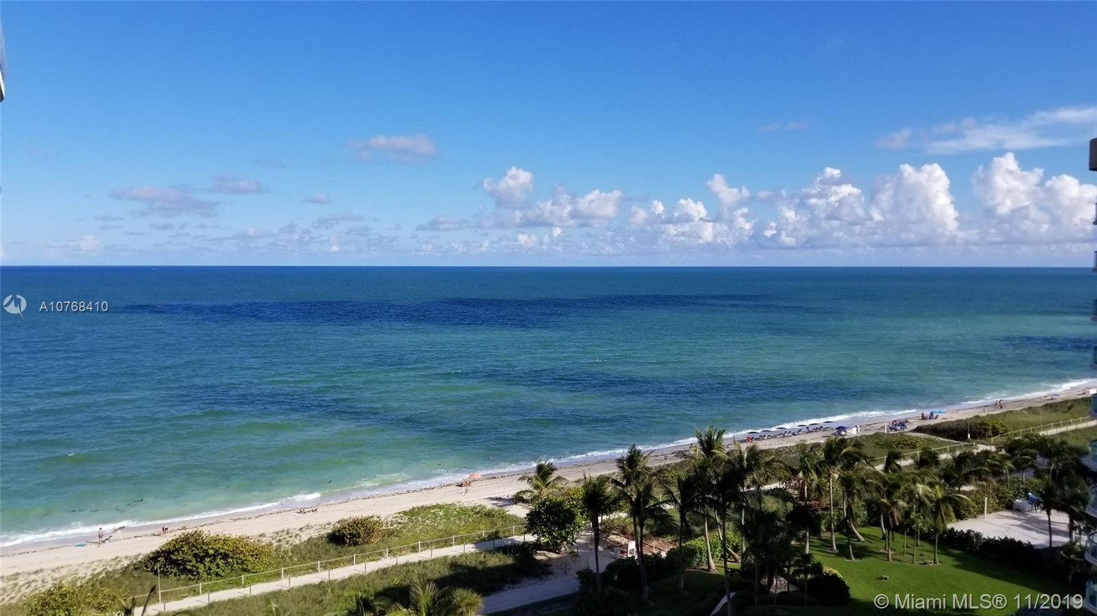 8877  Collins Ave #1109 For Sale A10768410, FL
