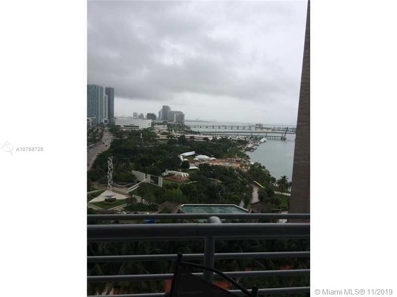 Gorgeous 2 bedroom apartment at One Miami Condominium in Downtown Miami. Apartment has been painted ALL white, and has updated appliances including updated washer/dryer. Marble floors throughout the entire apartment, . Minutes away from Whole Foods, American Airlines Arena, Bayfront Park, and Bayside. Easy to show. Available February 1st 2020, currently tenant occupied. Please call listing agent to schedule.