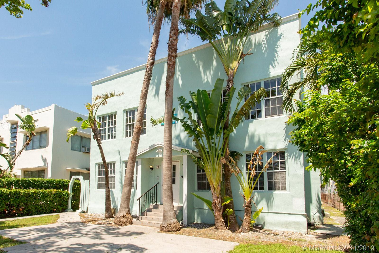 744  Jefferson Ave #2 For Sale A10768982, FL