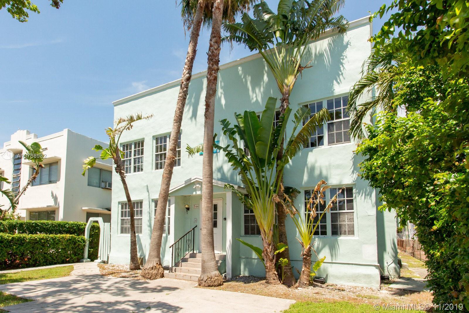 744  Jefferson Ave #2 For Sale A10768982, FL