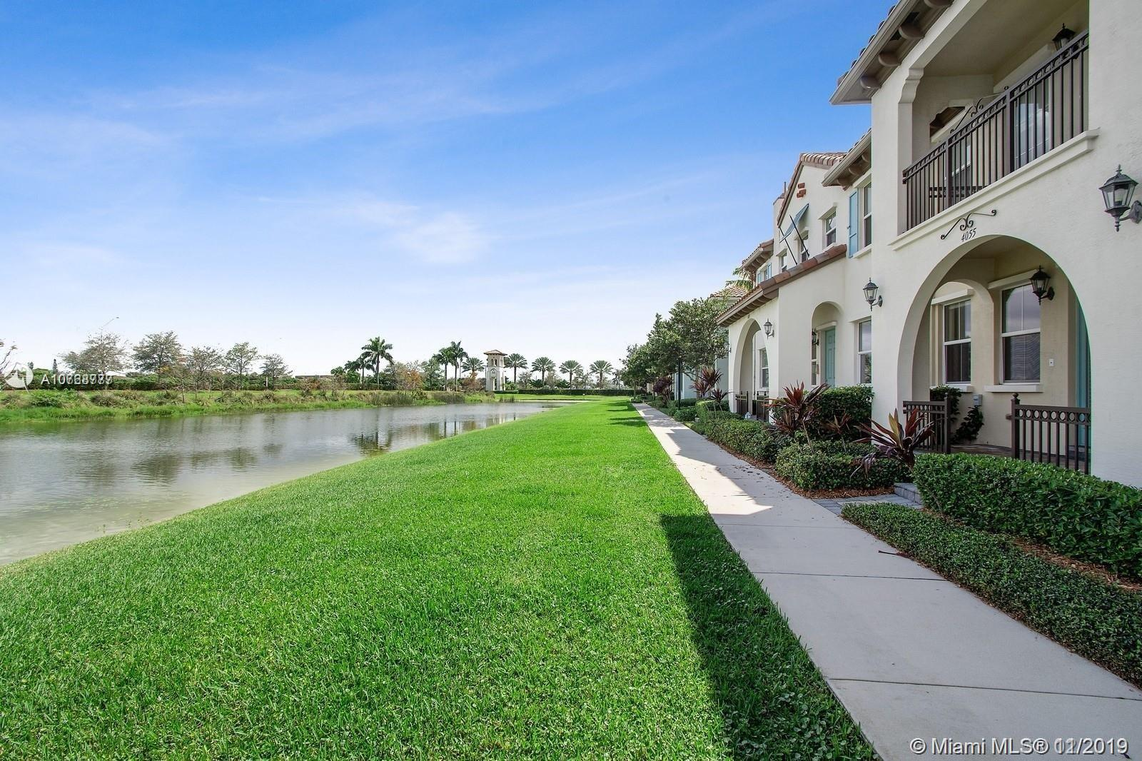 CENTRALLY LOCATED IN THE HEART OF COOPER CITY, FL IS THIS UNIQUE WATERFRONT TOWNHOME! NESTLED AWAY IN THE MOST SOUGHT AFTER GATED COMMUNITY, CASCADA AT MONTERRA. THIS RARE MODEL OFFERS 2 MASTER SUITES, 2.5 BATHS, HURRICANE IMPACT WINDOWS AND A TWO CAR GARAGE. ENJOY  FULL RESORT STYLE AMENITIES INCLUDING FITNESS CENTER, TENNIS AND BASKETBALL COURTS AND OF COURSE THE BEST SCHOOLS IN BROWARD COUNTY