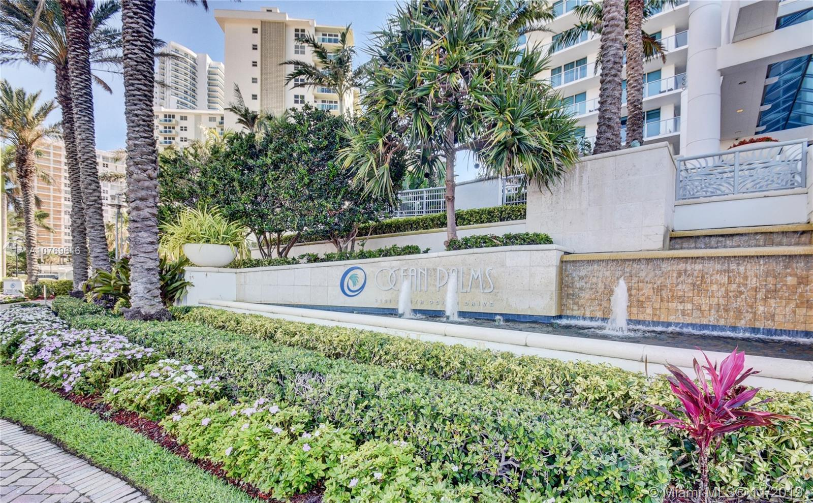 3101 S Ocean Dr #3408 For Sale A10769646, FL
