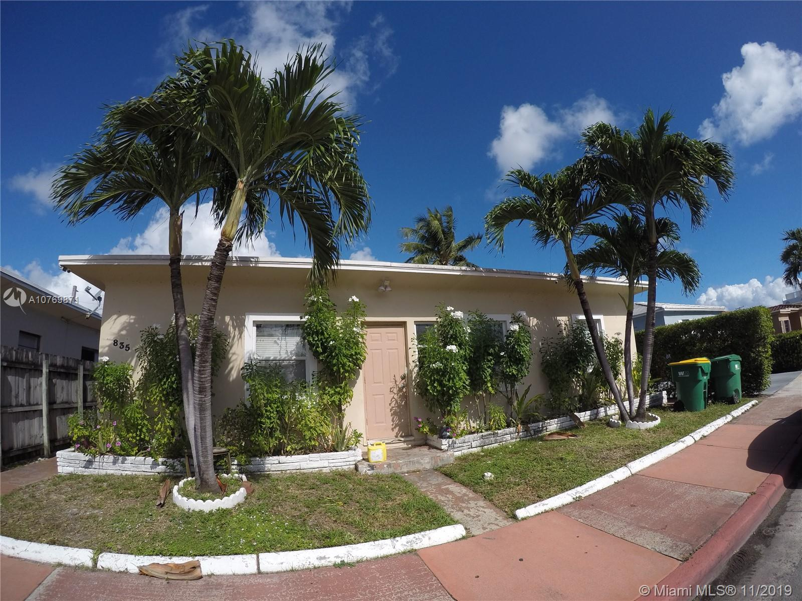 835  83rd St #4 For Sale A10769871, FL