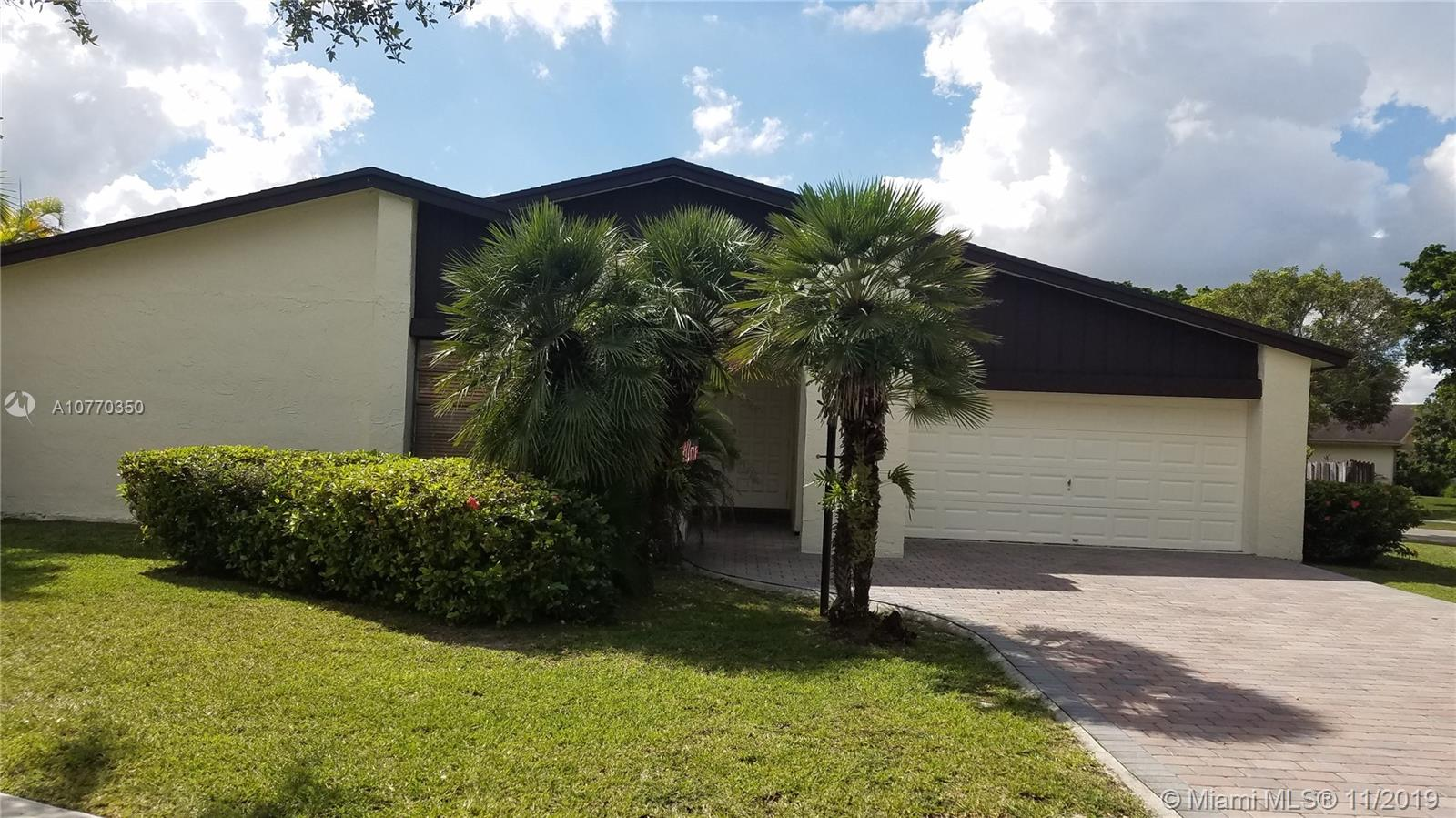 12780 SW 107th St  For Sale A10770350, FL