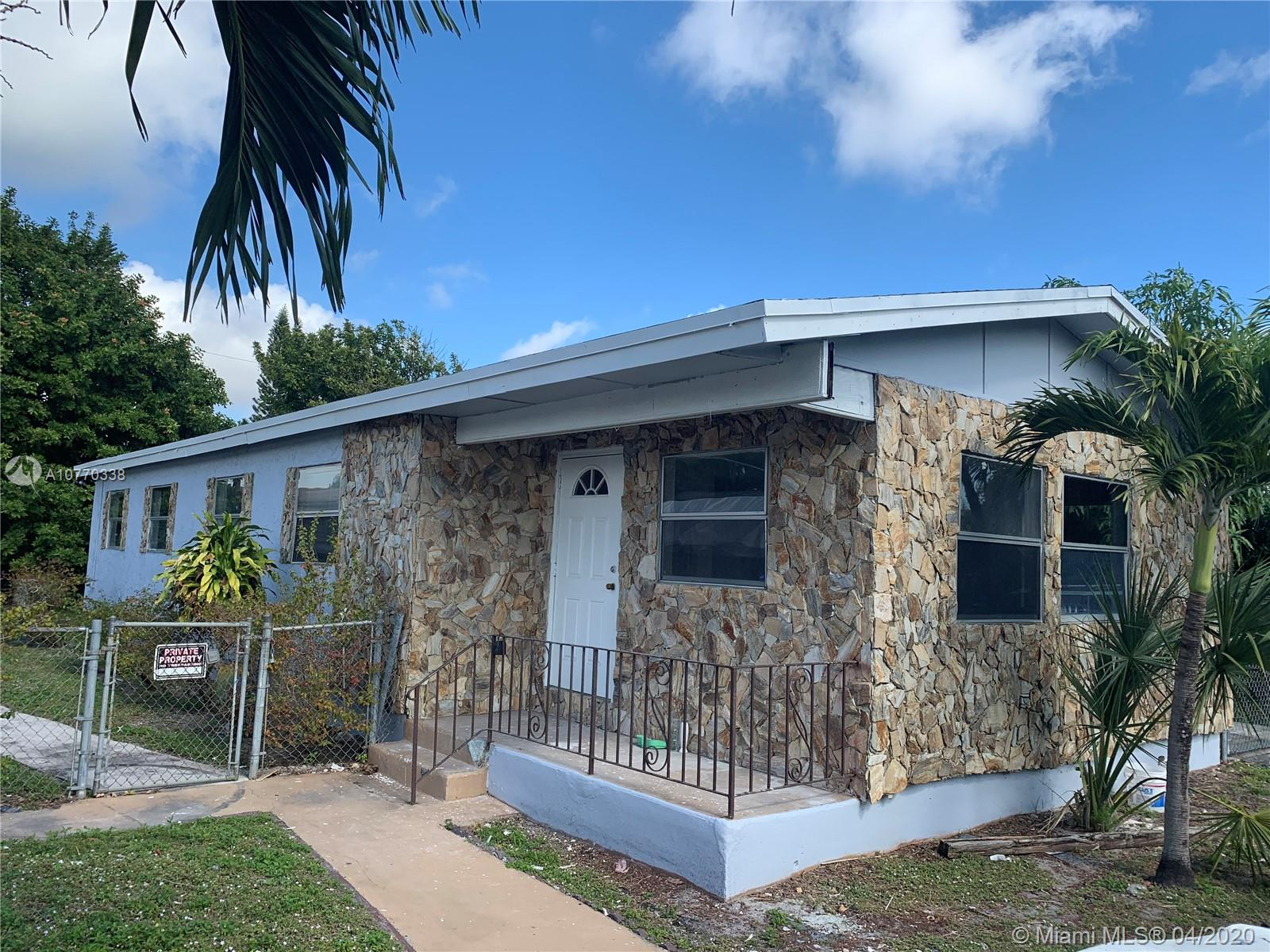 Fully remodeled 3 bedrooms with 2 bathrooms with a possible fourth bedroom Large lot with room for a boat or cars in the driveway. New roof and new A/C unit. Hurry will not last at this price. All offers must include proof of funds or Loan Pre ApprovalShowings after November 15th, 2019