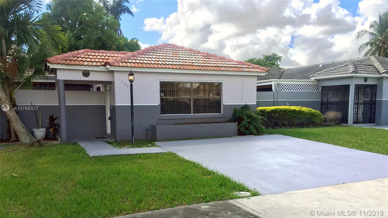 14844 SW 82 Ter  For Sale A10769327, FL