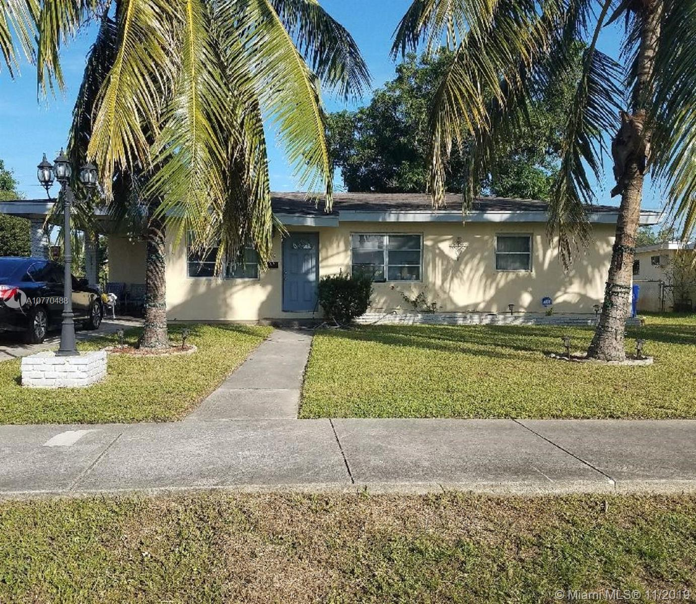 FOUR BEDROOM 2 BATH HOME ON A LARGE LOT.  HOME HAS TILE THROUGHOUT, CENTRAL A/C, GRANITE COUNTERS, STAINLESS STEELE APPLIANCES.  1 BEDROOM/1 BATH HAS IS OWN ENTRANCE WHICH IS IDEAL FOR A TENANT.  UTILITY ROOM, LARGE FENCED YARD. CARPORT