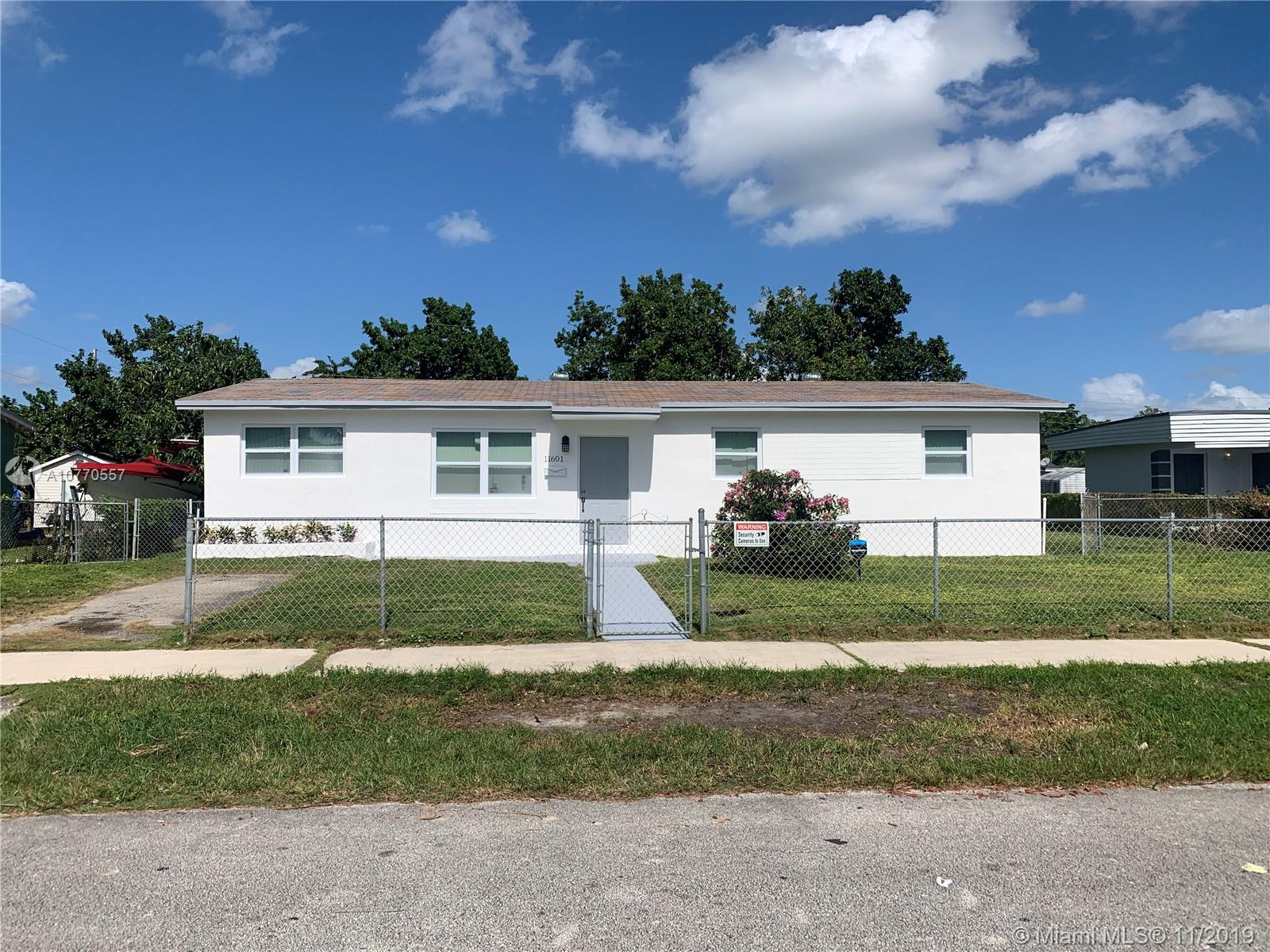 11601 SW 138th St  For Sale A10770557, FL