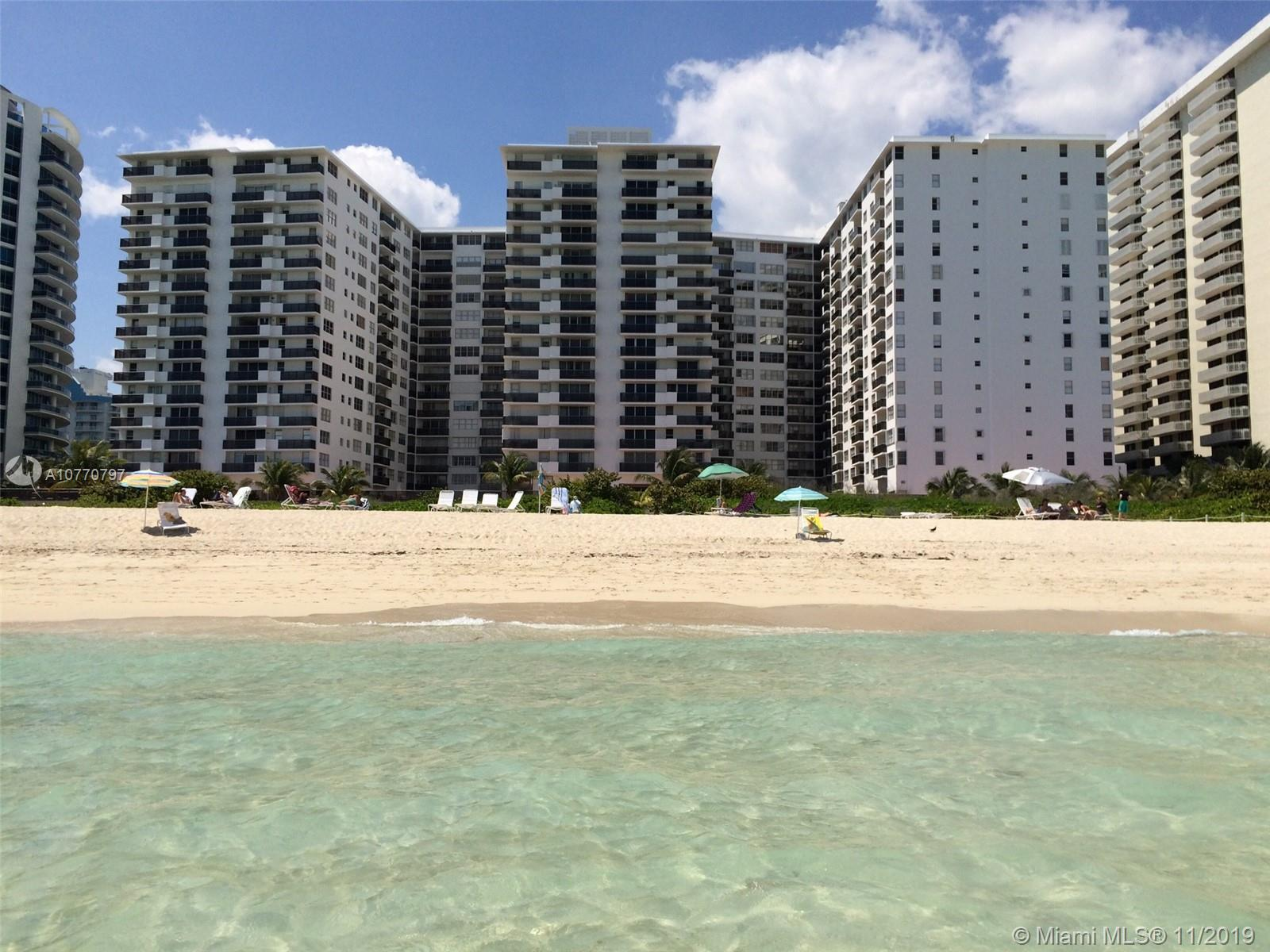 6039  Collins Ave #1407 For Sale A10770797, FL