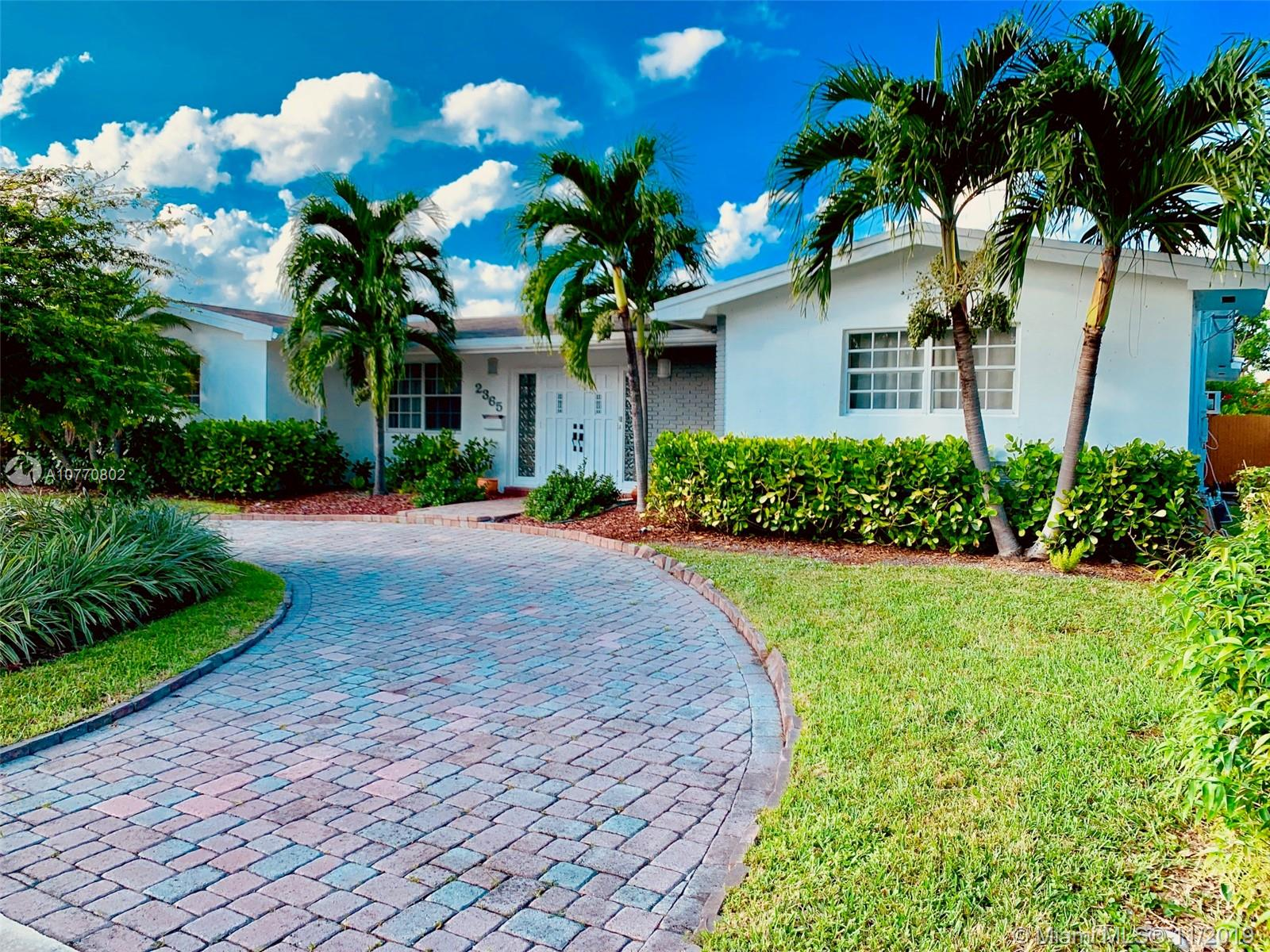 2365 NE 195th St  For Sale A10770802, FL