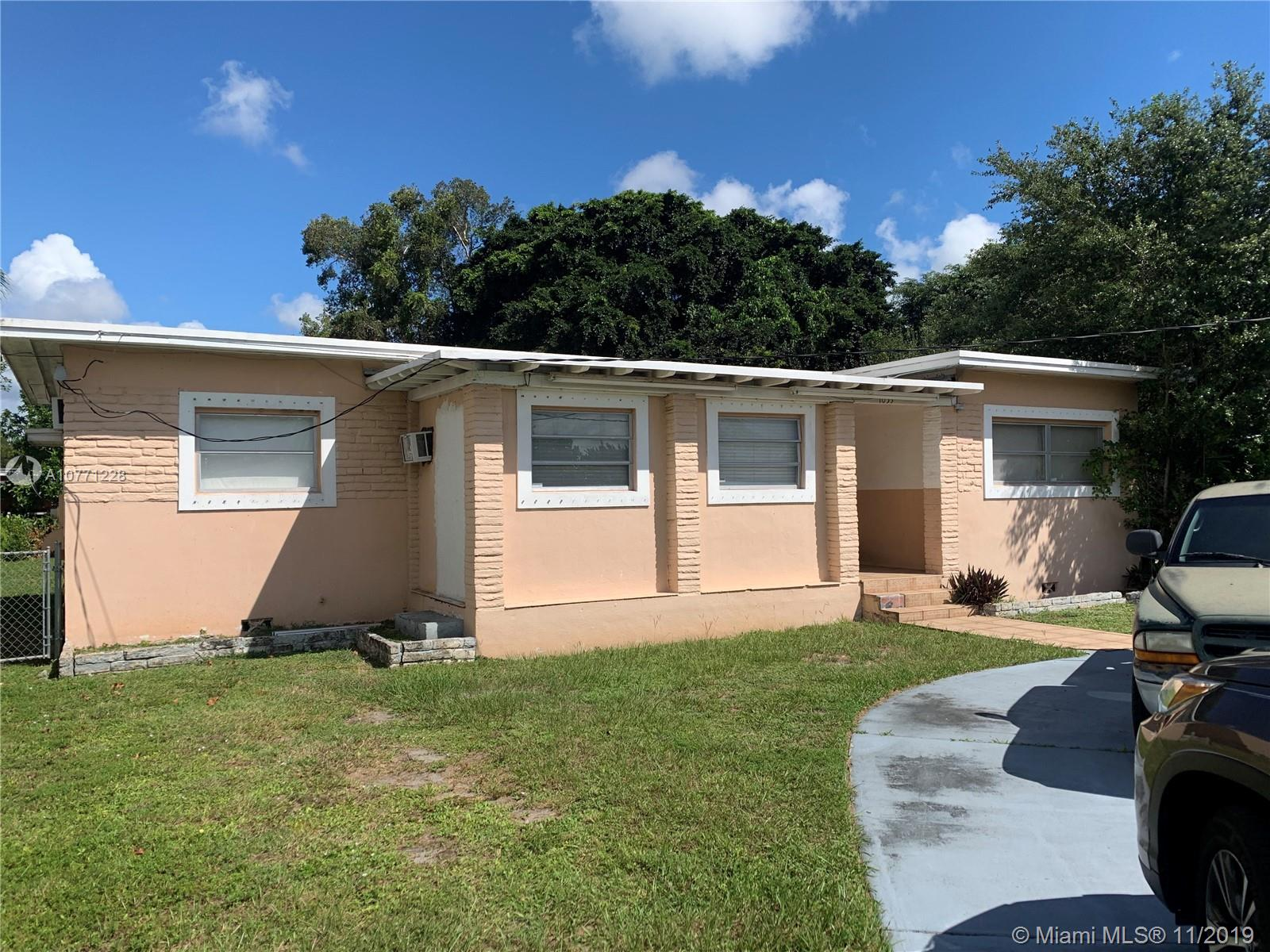 1055 N E 144th St  For Sale A10771228, FL