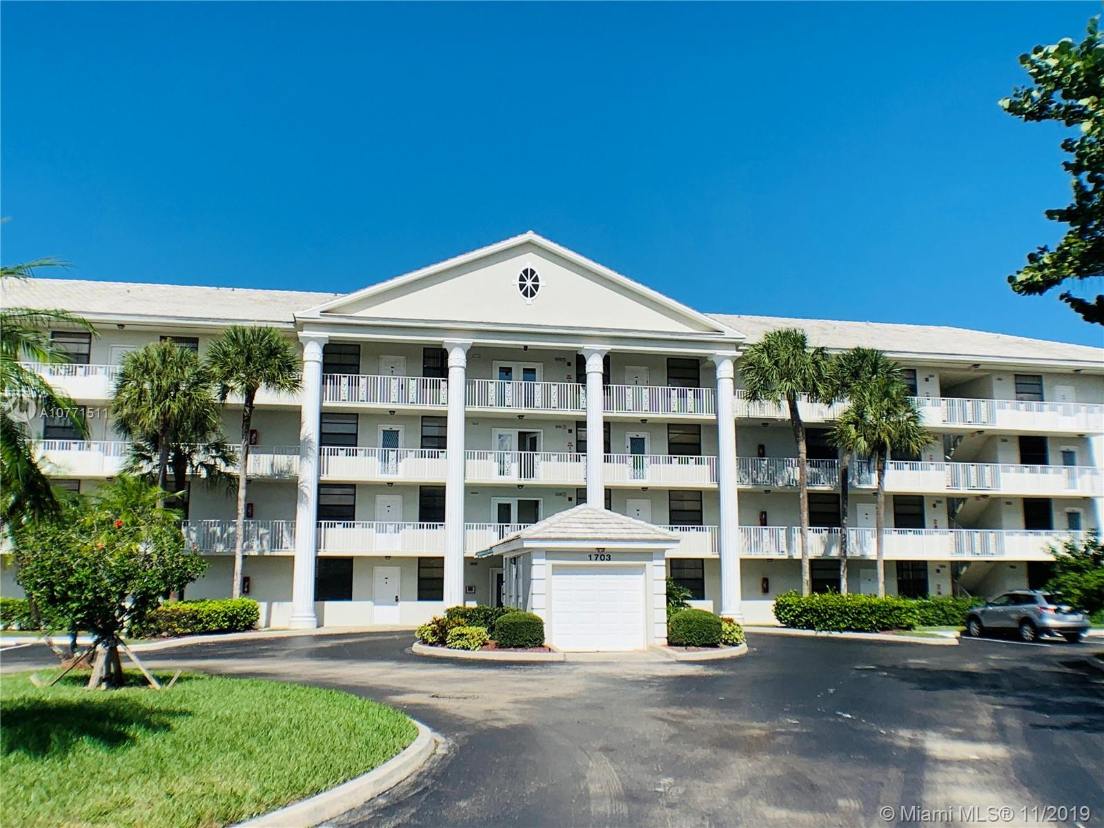 1703  Whitehall Dr #306 For Sale A10771511, FL