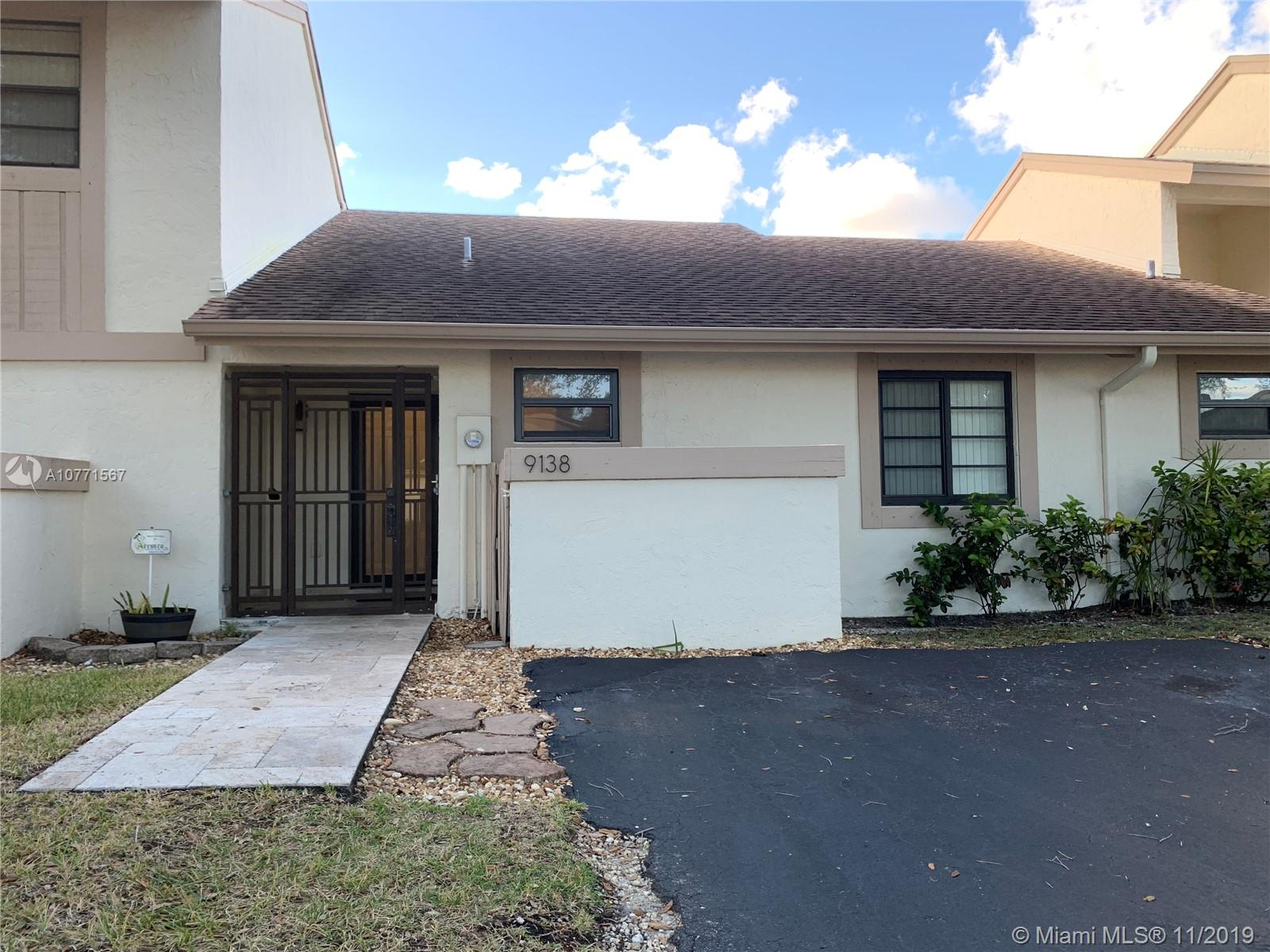 9138 SW 118th Ct #9138 For Sale A10771567, FL