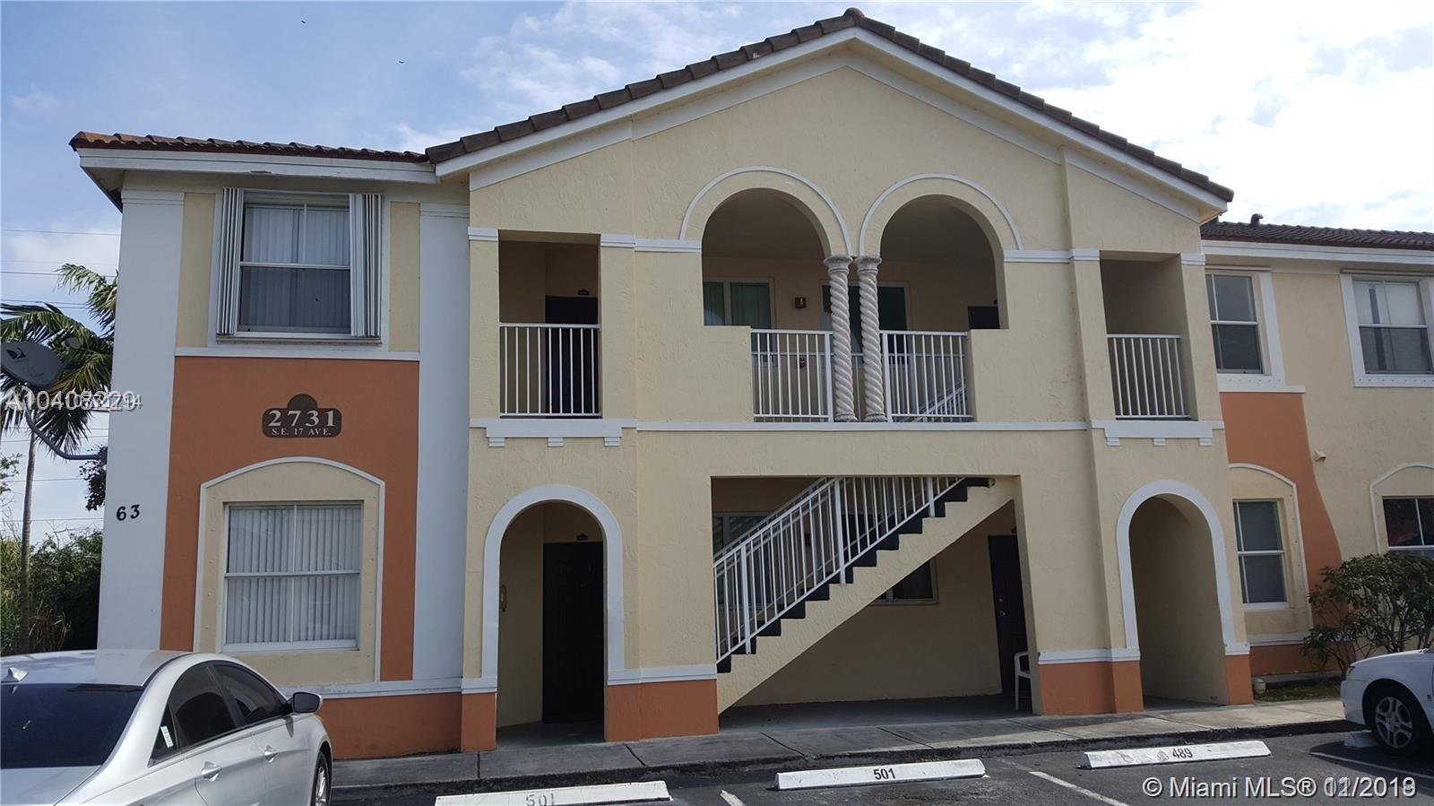 2731 SE 17th Ave #108 For Sale A10771714, FL