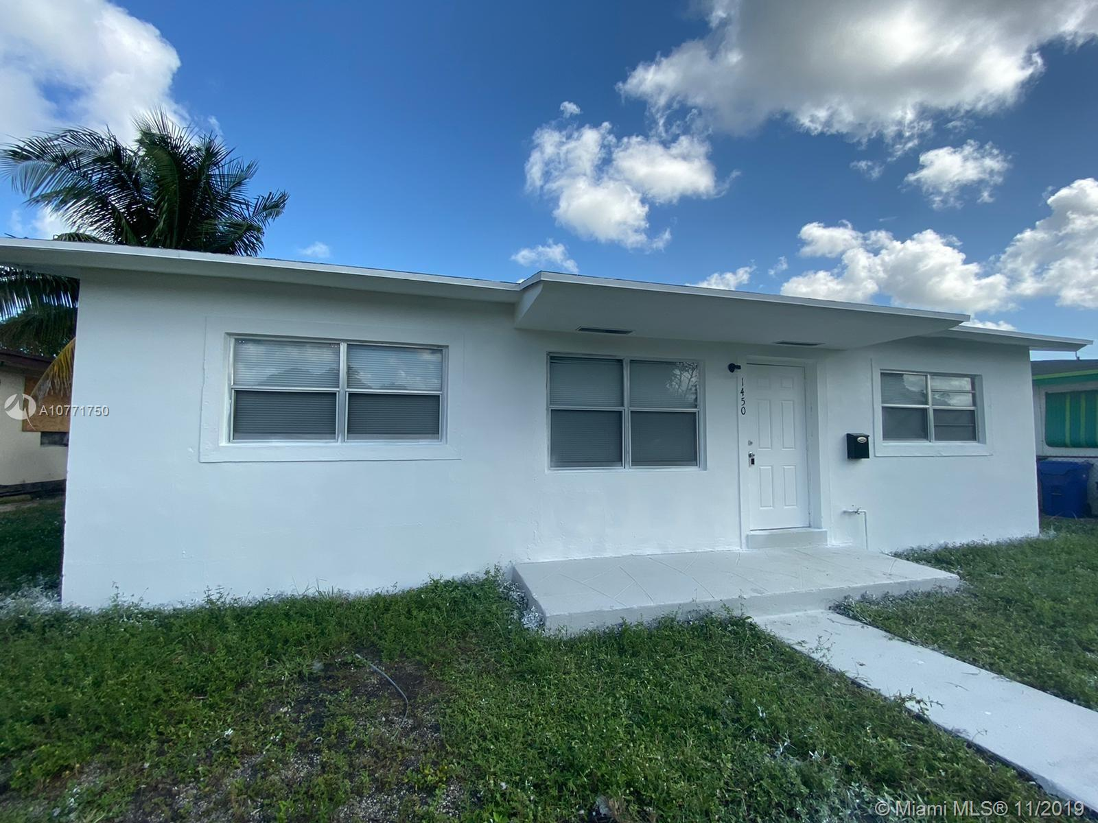 1450 N W 24th Ter  For Sale A10771750, FL