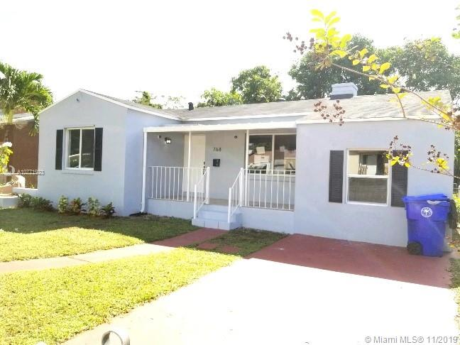 768 NW 49th St  For Sale A10771923, FL