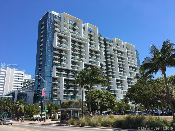 2201  Collins Ave #610 For Sale A10771936, FL