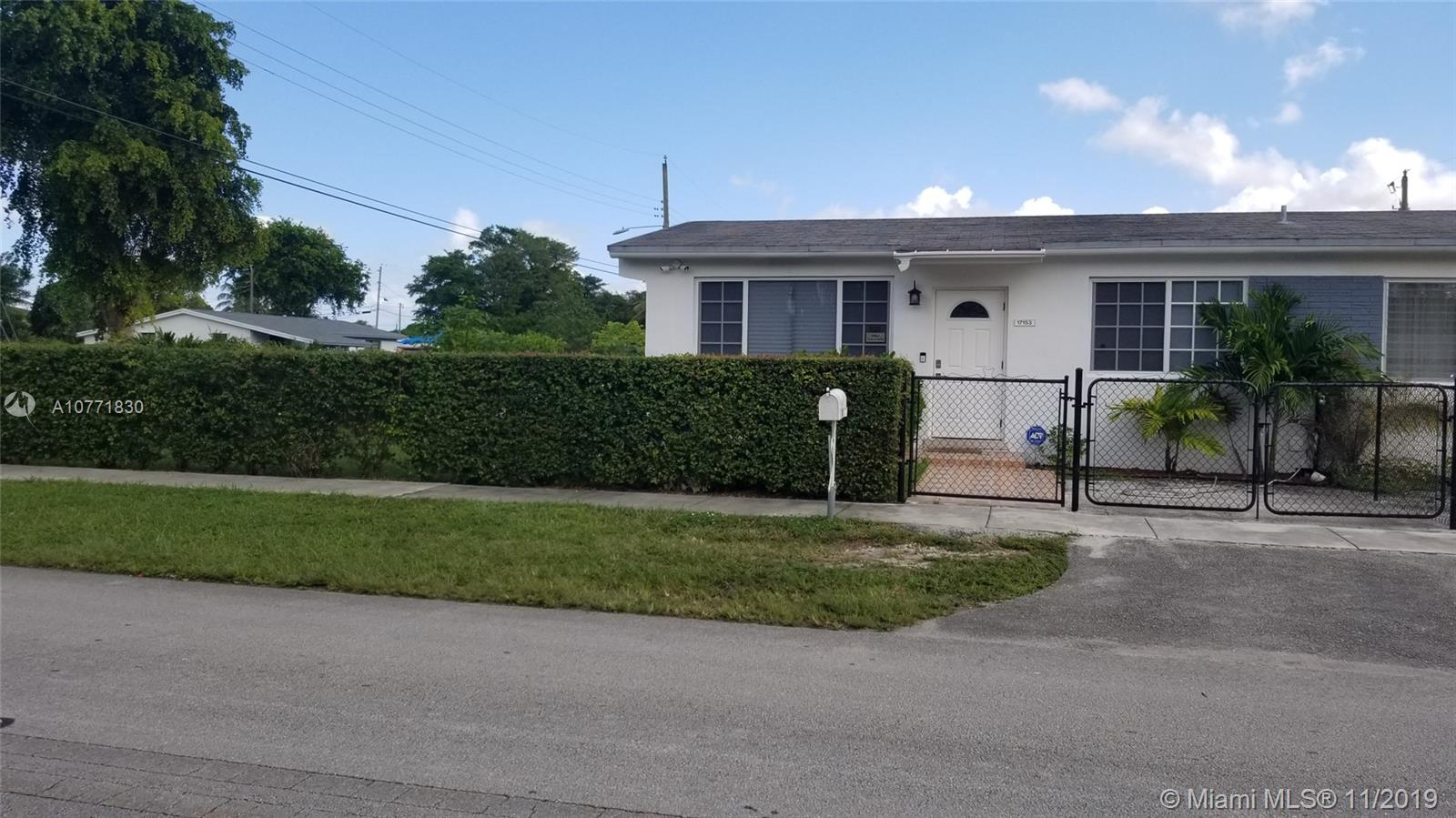 17153 NE 3rd Ave  For Sale A10771830, FL