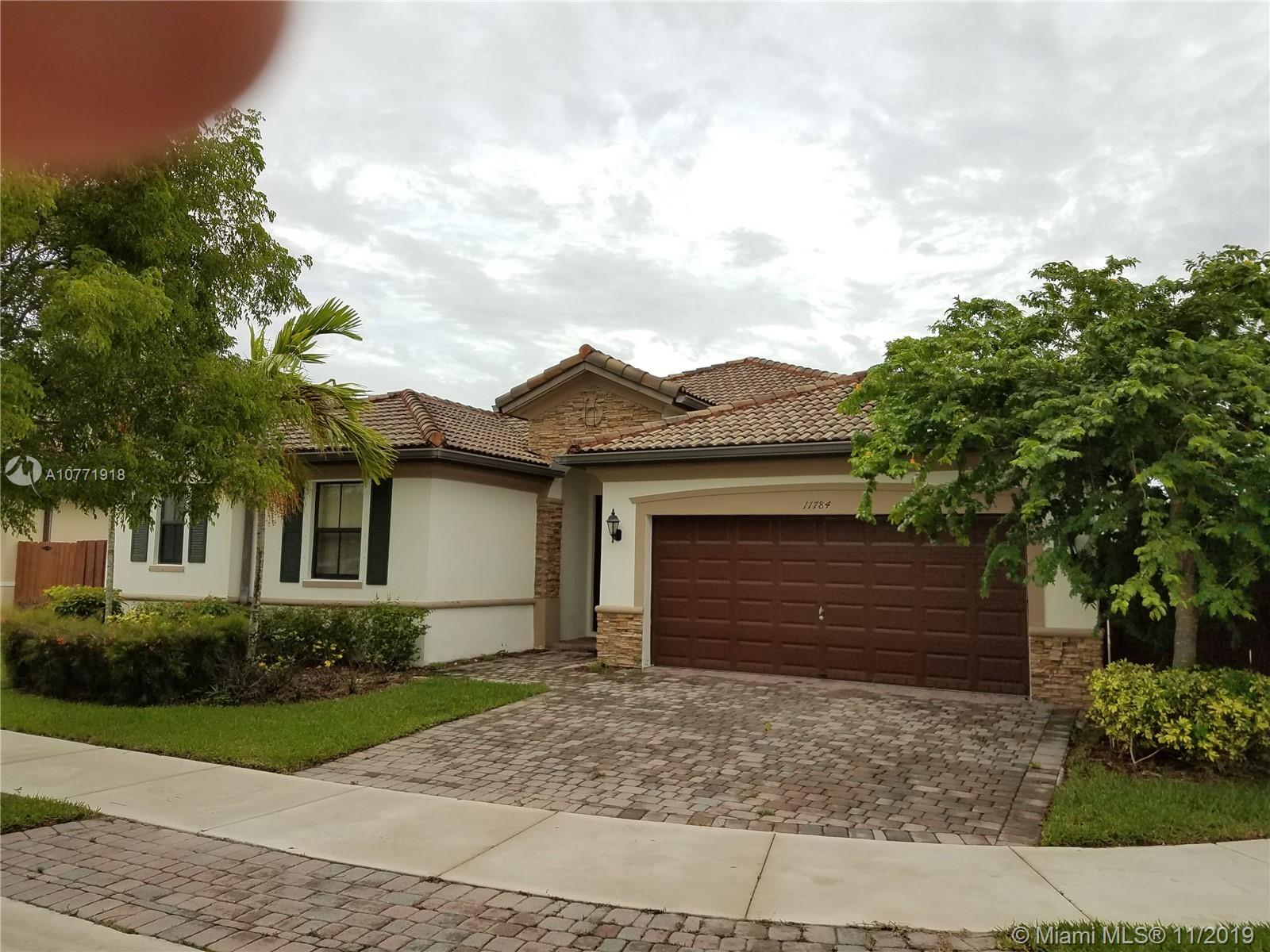 11784 S W 153rd Pl  For Sale A10771918, FL