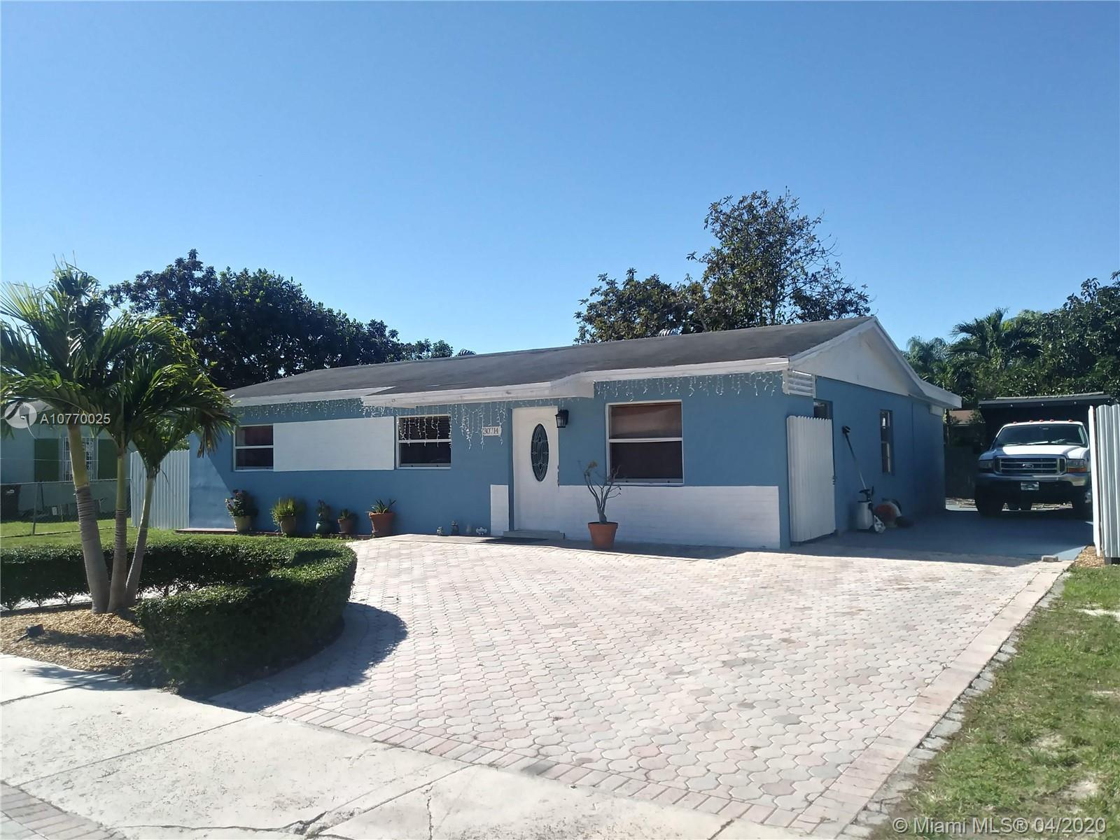 30714 SW 153rd Ct  For Sale A10770025, FL