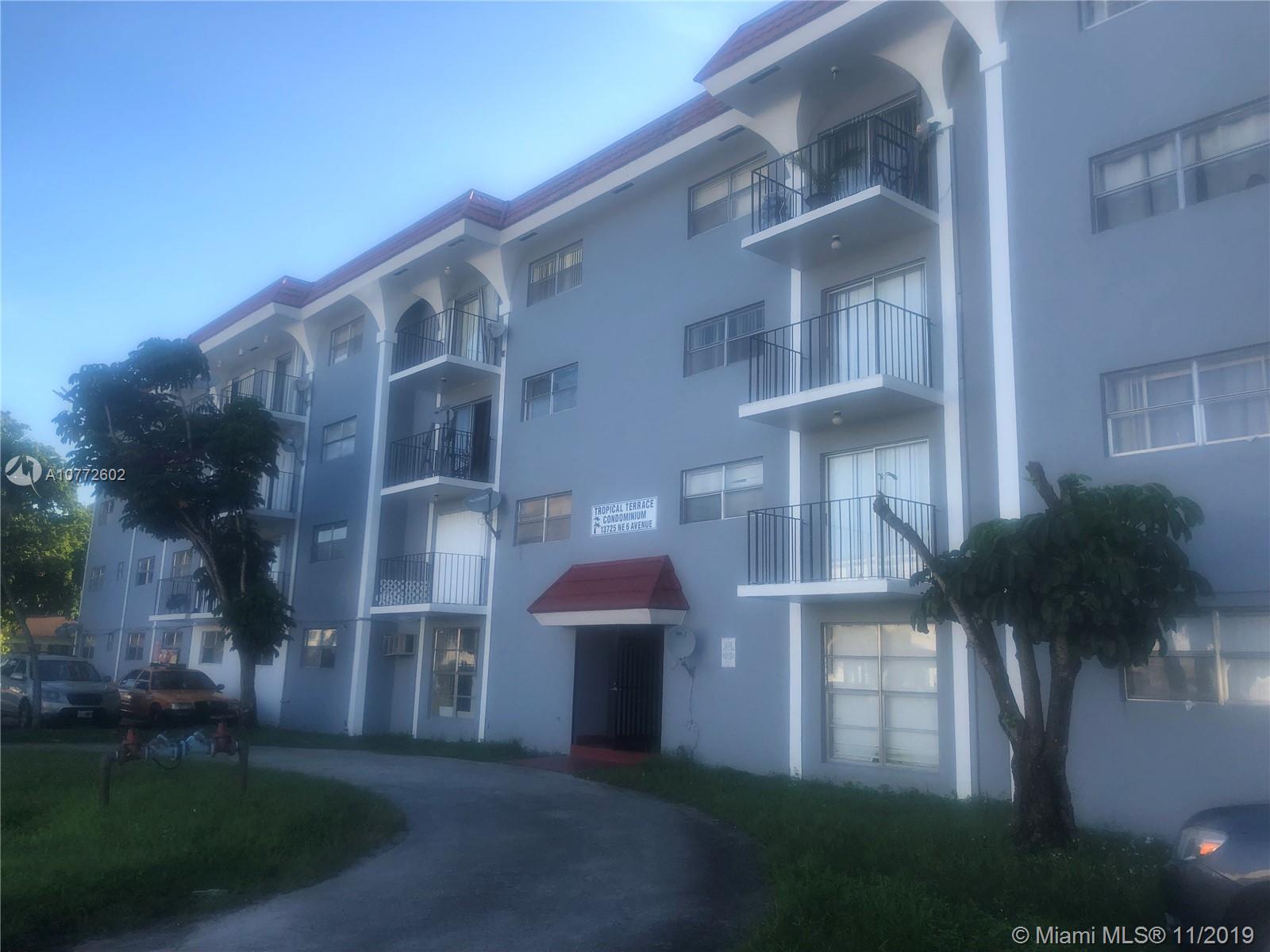 13725 NE 6th Ave #203 For Sale A10772602, FL