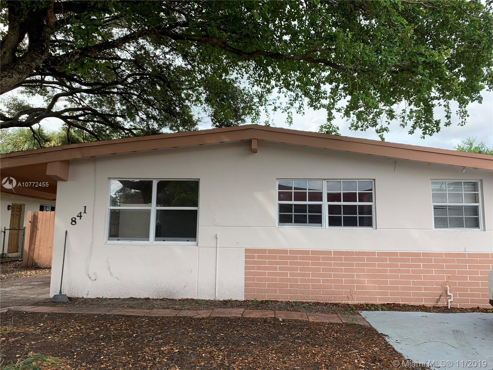 841 N W 19th Ave  For Sale A10772455, FL