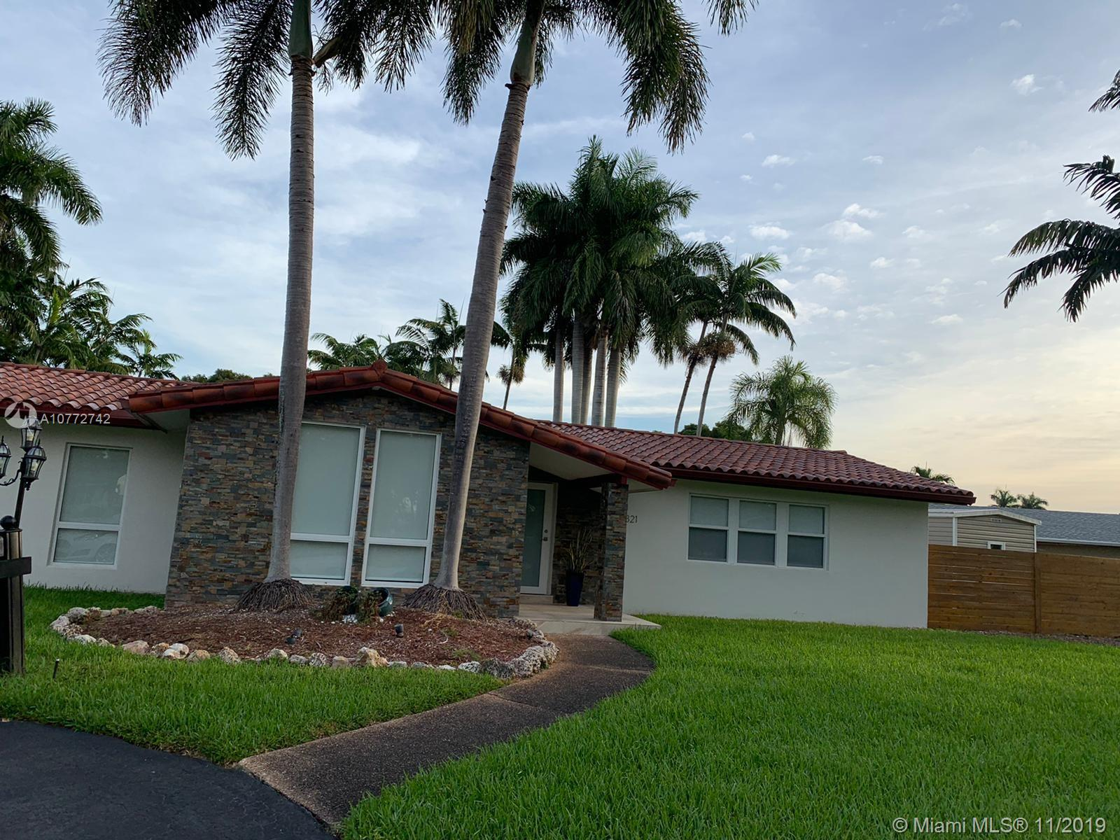 8821 SW 176th St  For Sale A10772742, FL