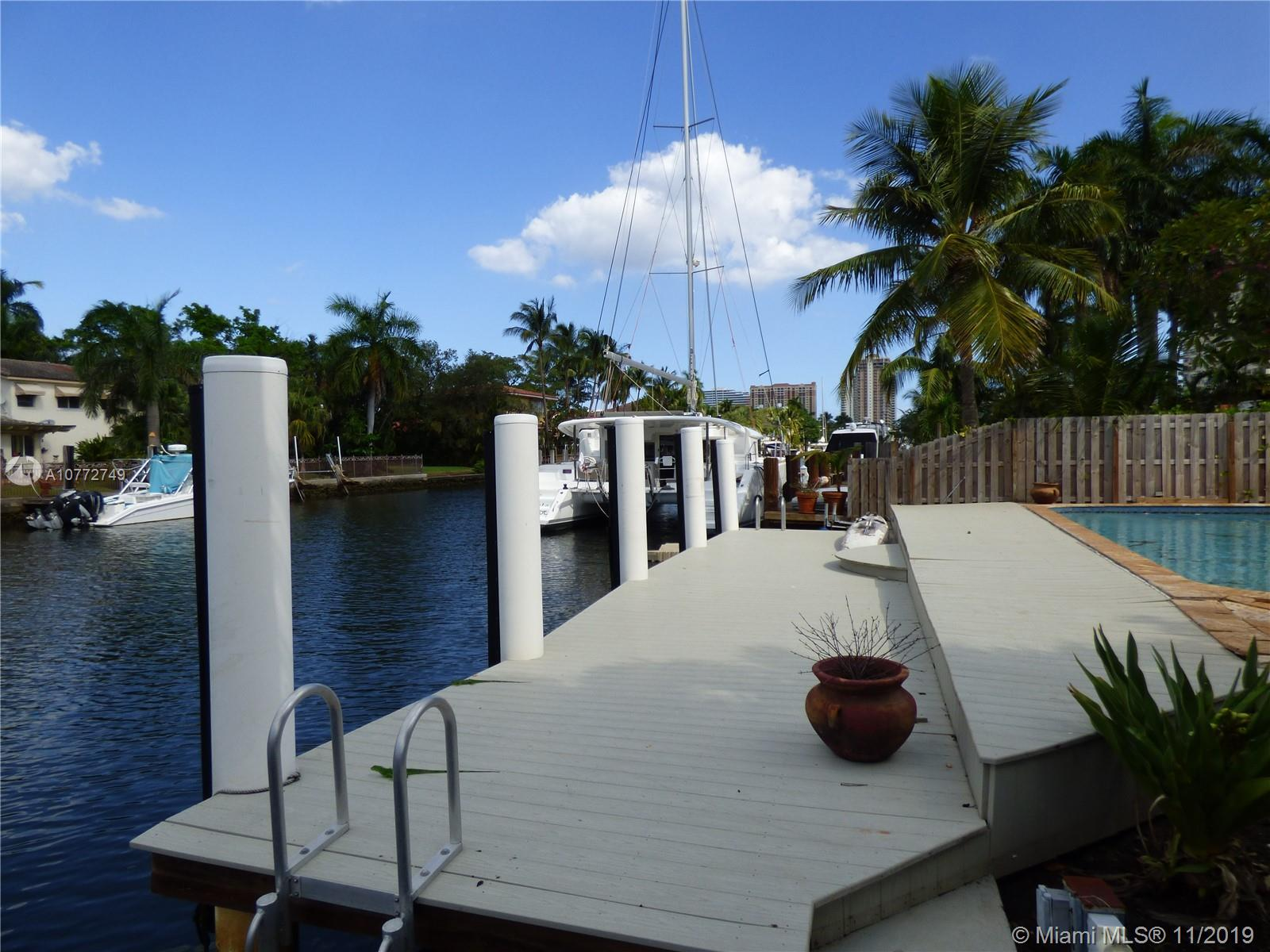 Boat owners dream. This home has 60' of deep water with reinforced sea wall. Only minutes (3 miles) to the ocean with NO fixed bridges. Renovate, knock down or move right in. Only 3/4 of a mile walk or bike to the beach and all the restaurants, shops and action that Las Olas has to offer. Seller says LET'S MAKE A DEAL Sell it now!!!!