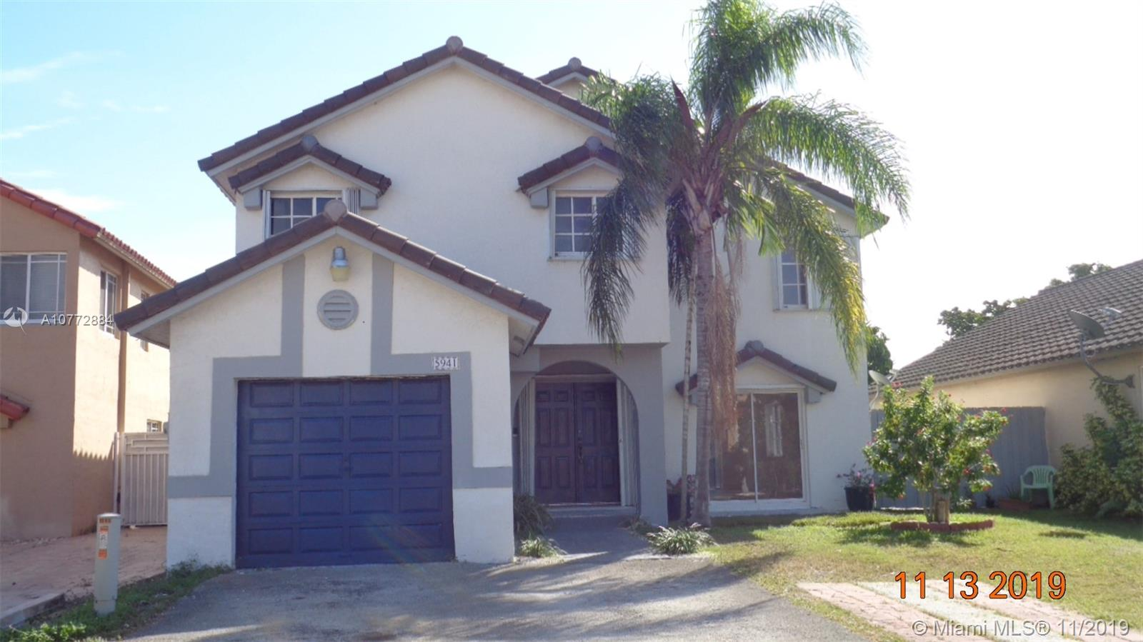 5941 SW 151 ct  For Sale A10772884, FL
