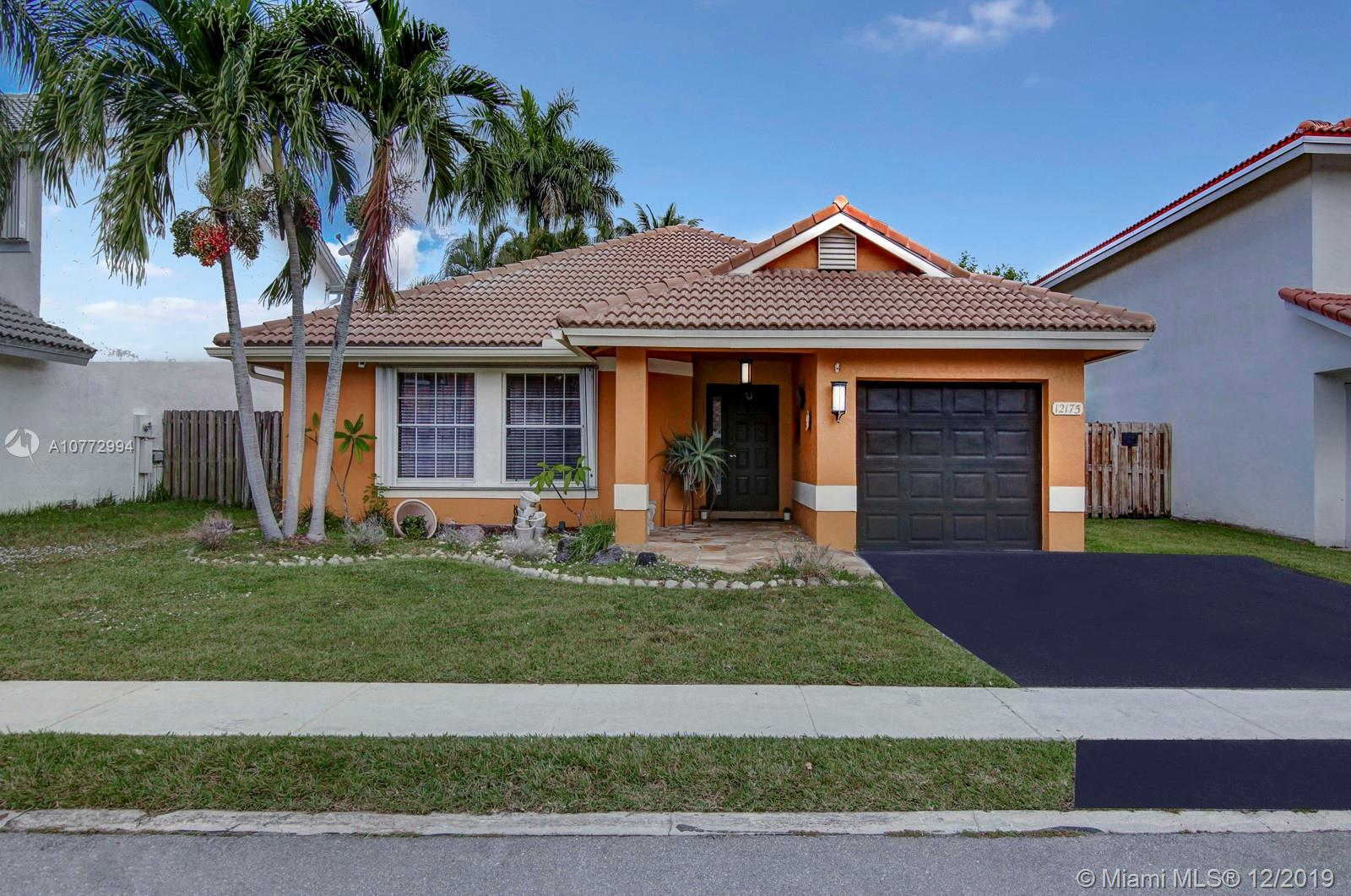 12175 NW 35th Street, Sunrise, FL 33323