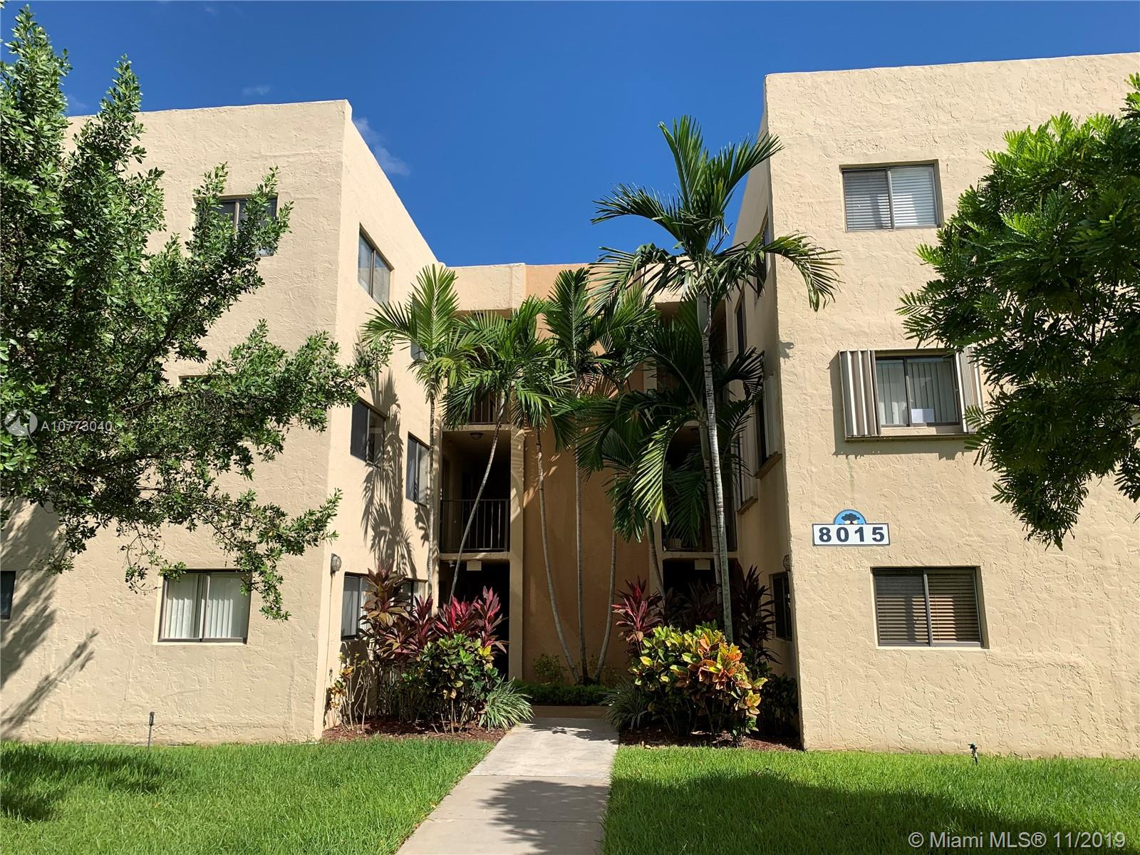 8015 SW 107th Ave #103 For Sale A10773040, FL