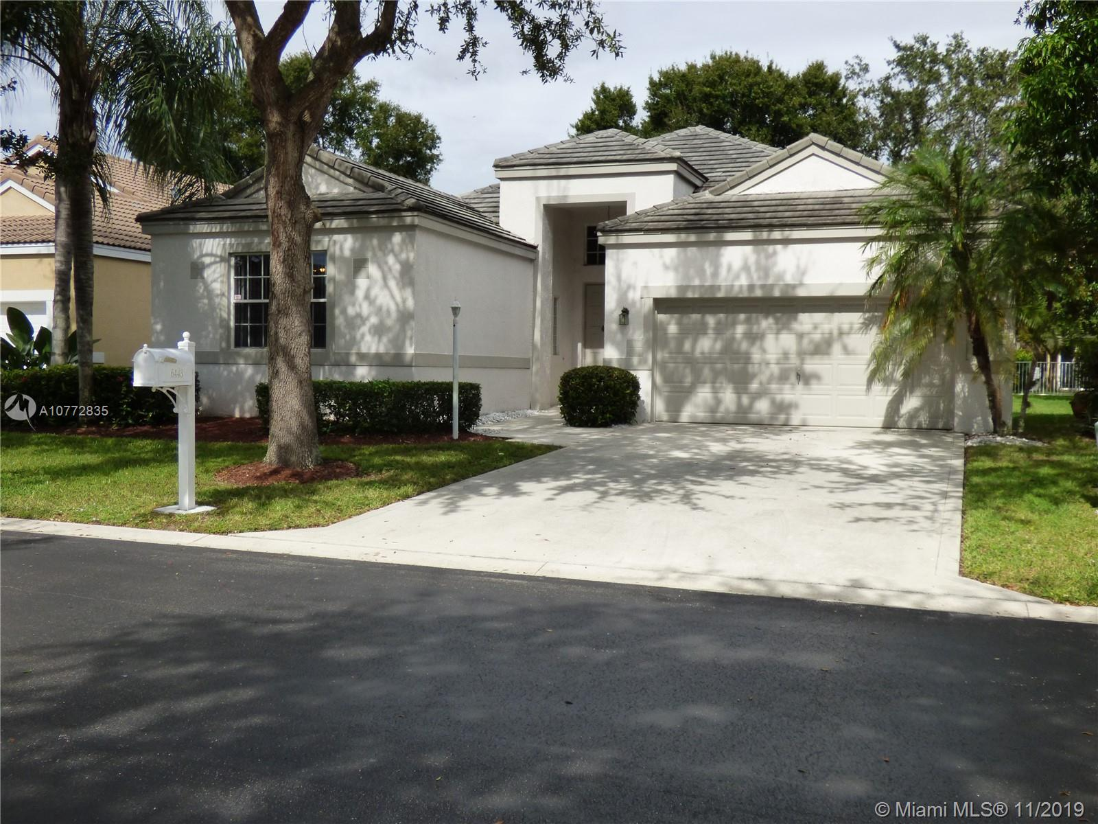 6443 NW 78th Dr  For Sale A10772835, FL