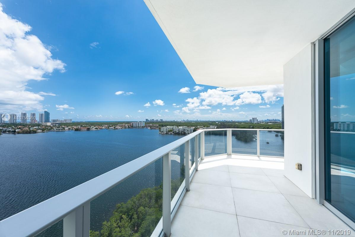 Most Desired and luxurious line in the building with spacious  well-appointed, 3 bedrooms/3.5 baths, with spectacular views over the marina, the intercoastal waterway, and beyond to the Atlantic. Apartment is entirely redesigned with the most meticulous materials. . 3 deeded  parking spaces. Exclusive community with a state-of-the-art full-service Marina and Boat Club. Sophisticated and incredible amenities include gym with top equipment, infinity pool facing the bay and much more. Vacant and easy to show.