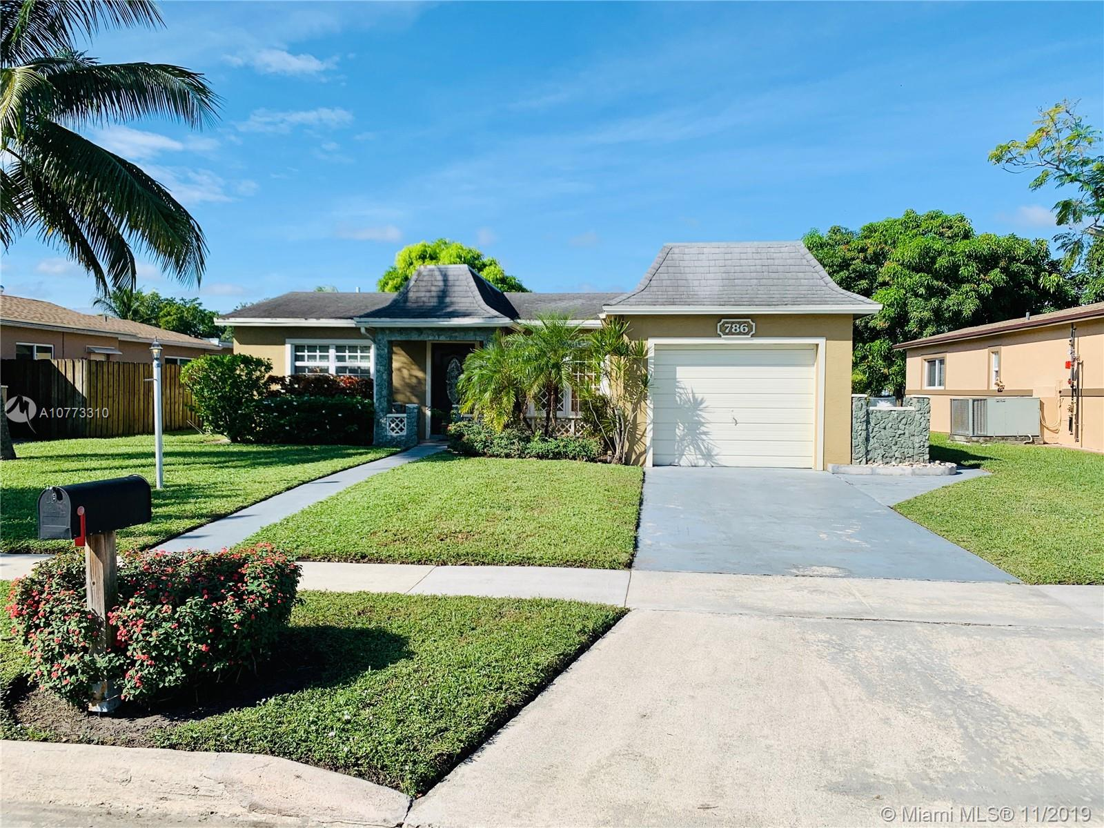 786 SW 54th Ave, Margate, FL 33068