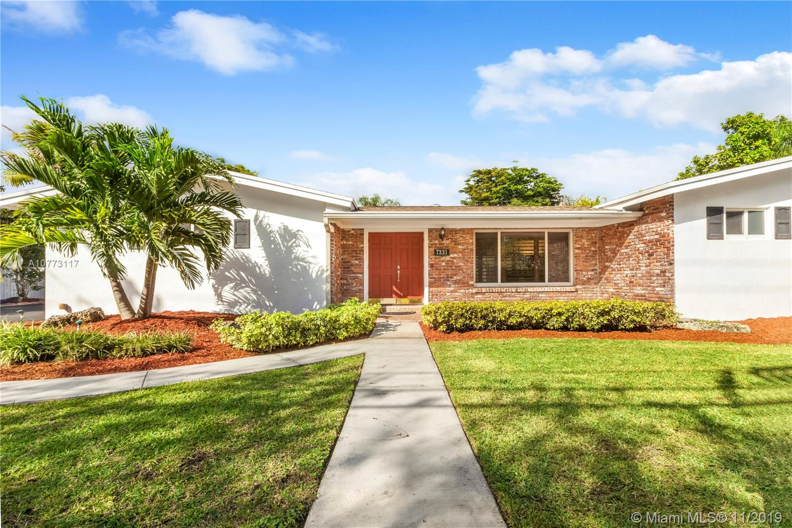 7331 SW 136th St  For Sale A10773117, FL