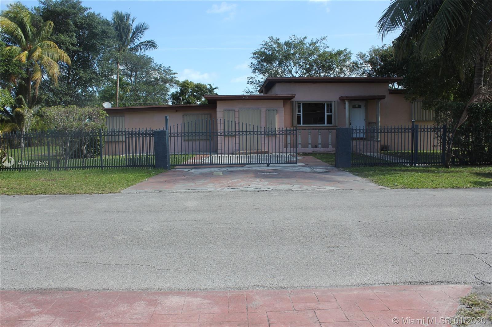 14701 N W 3rd Ave  For Sale A10773579, FL