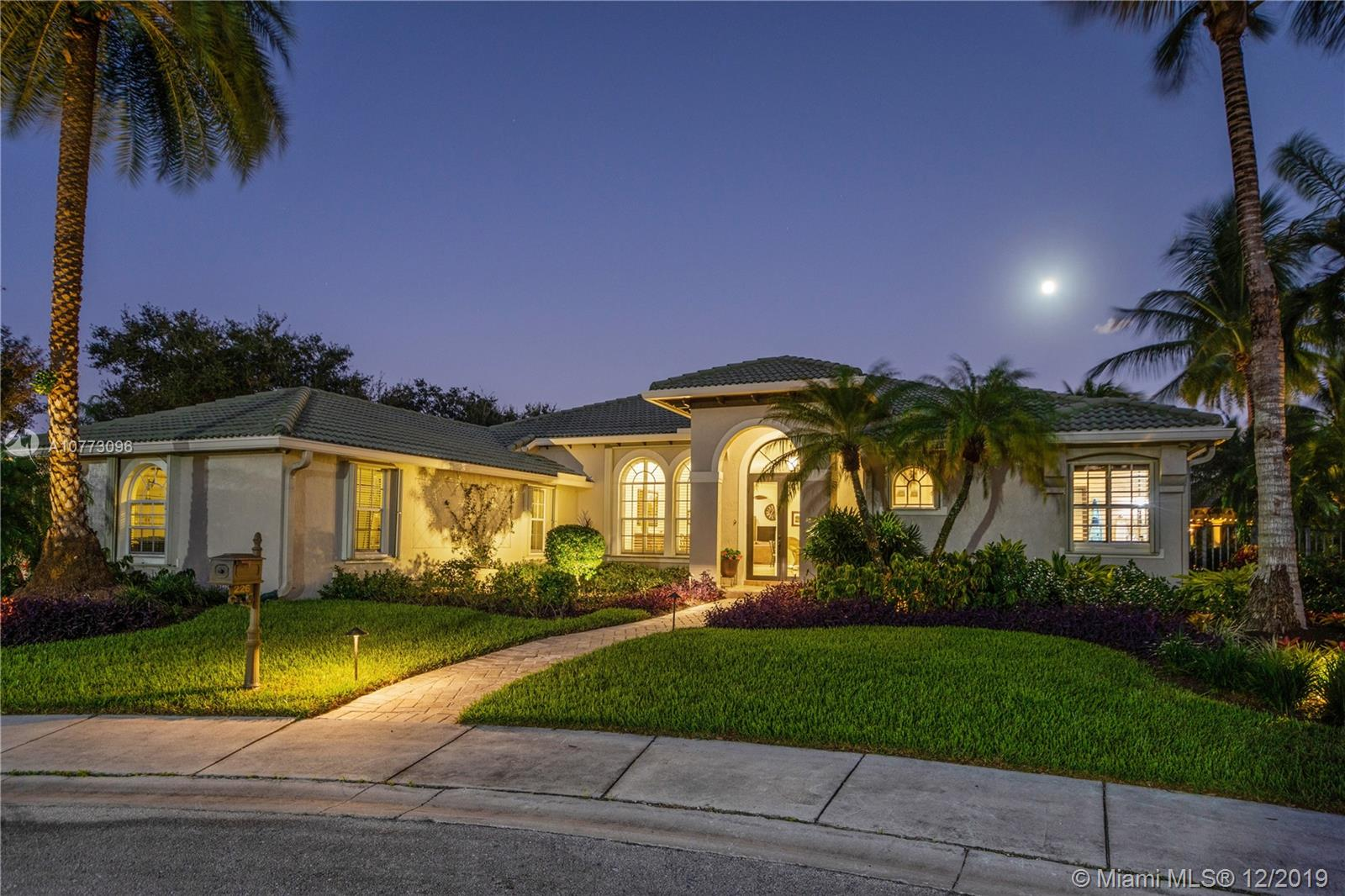 SPECTACULAR CUSTOM-BUILT HOME IN THE PRESTIGIOUS AND DESIRABLE THE LANDINGS. Perfectly located in a cul-de-sac on an OVERSIZE LOT, WITH ALMOST 19,000 SQ FT surrounded by a magnificent resort style outdoor area impeccably landscaped. A PRIVATE OASIS, PERFECT TO ENTERTAIN!This one story home with 5BED+OFFICE is in IMMACULATE CONDITION, with marble/wood floors throughout and high-end finishes. IMPECCABLY RENOVATED: new fully equipped chef's kitchen with all brand new top of the line appliances, new ACs, newly renovated pool and spa with new heaters, new plantation shutters, among other upgrades. Impact/accordion hurricane protections and new garage impact doors. Owner being transferred by the company. Access to best A-rated public schools. COME LIVE AN AMAZING LIFESTYLE IN THIS DREAM HOME!