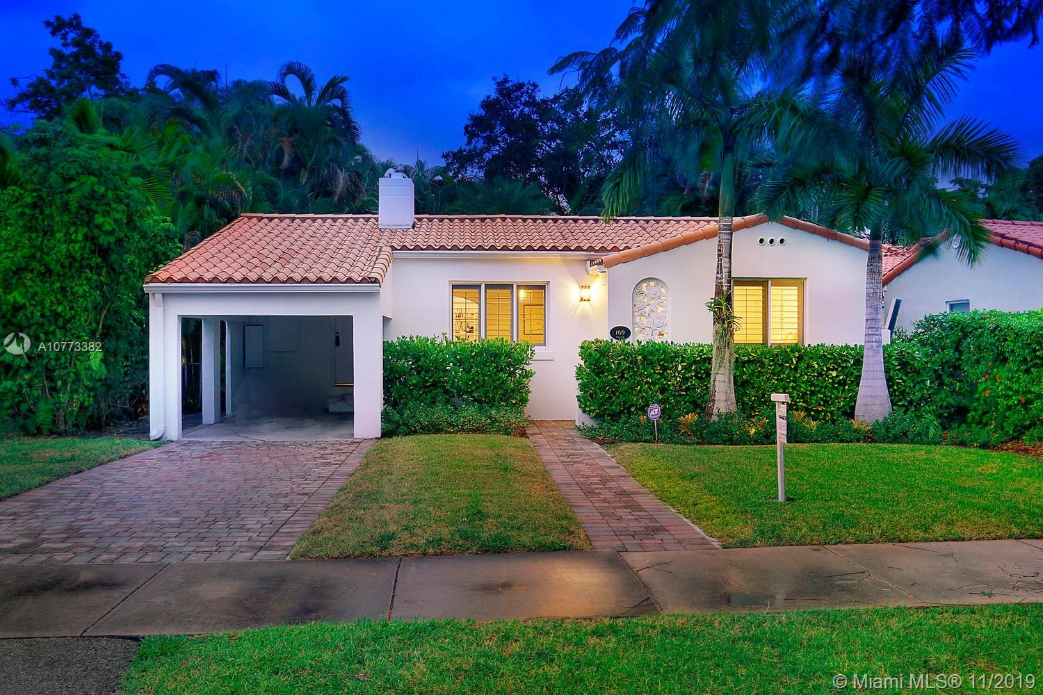 109  Camilo Ave  For Sale A10773382, FL
