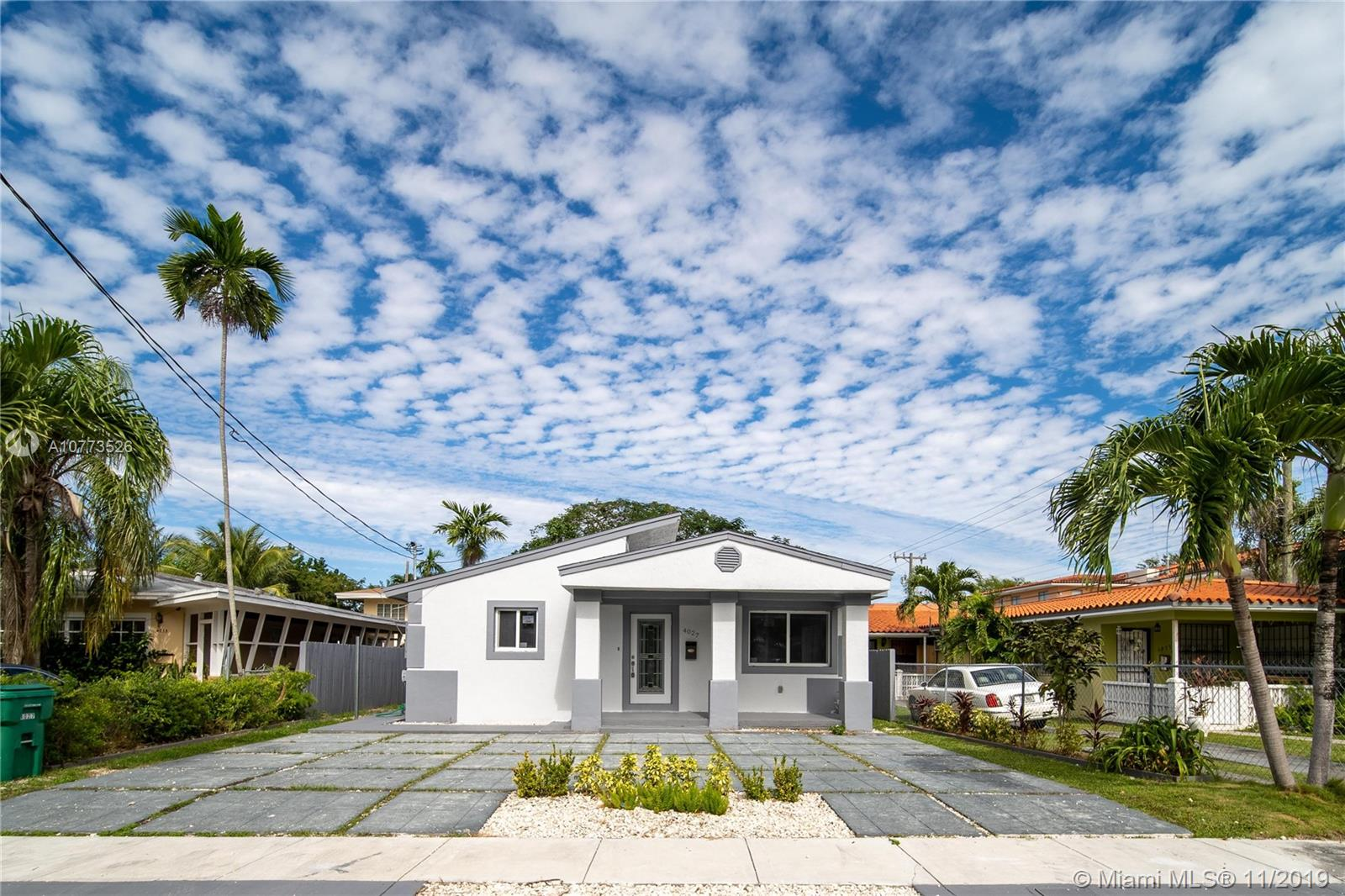 4027 SW 11th St  For Sale A10773526, FL