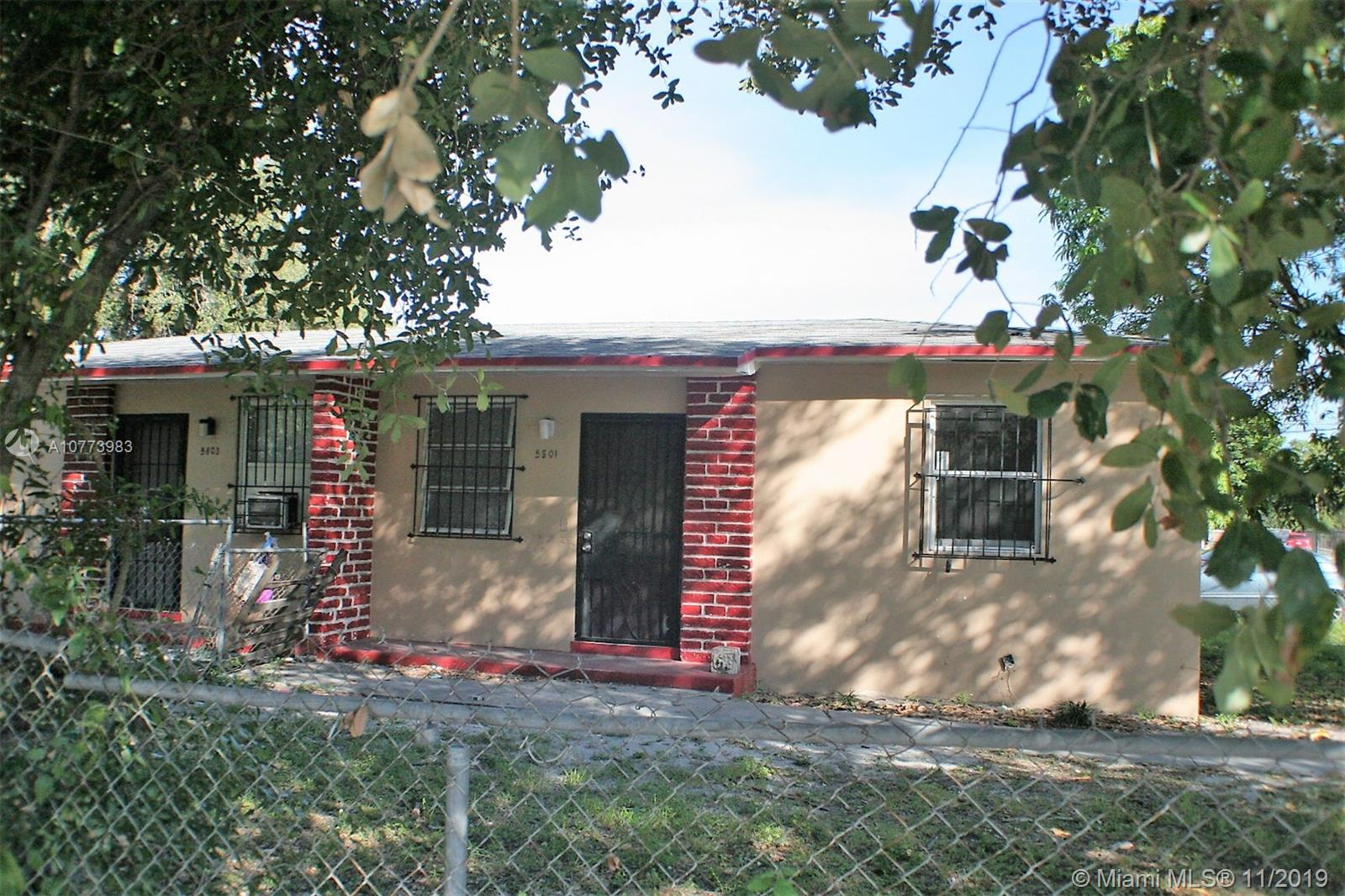 5801 NW 1st Ave  For Sale A10773983, FL