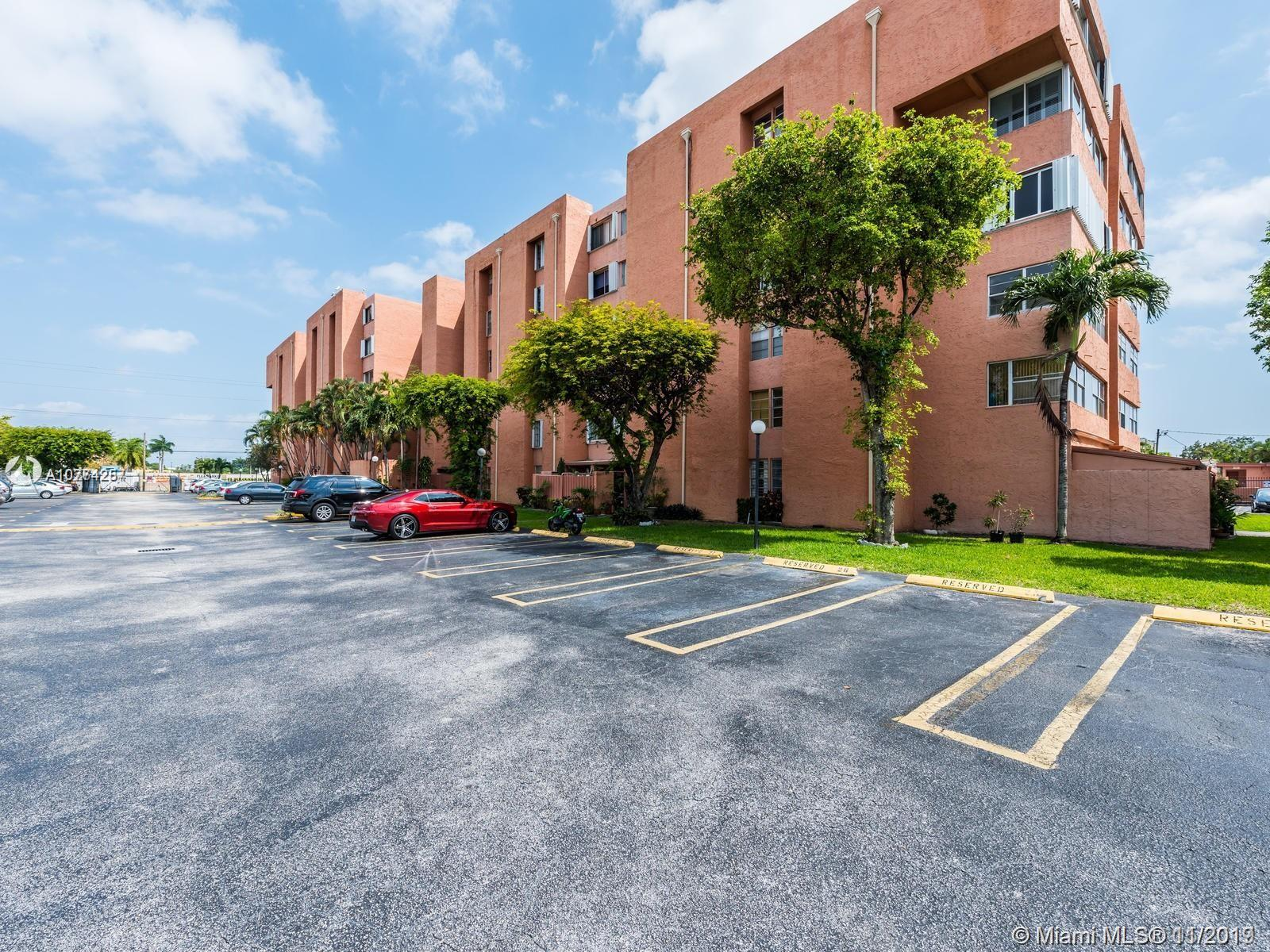 ****CASH ONLY****SOLD AS-IS****This 2 bed 1 bath condo has a completely tiled living area, an enclosed balcony for extra living space, and 1 assigned gated parking space. It is a well-maintained building with a pool facility. This condo is located in a very central location of Miami, close to the airport, and major roadways which gives easy access to the downtown area, Coral Gables, and Coconut Grove. Not only that but it is at walking distance to shopping centers, banks, restaurants and movie theater. It can be rented right away; great for investors.