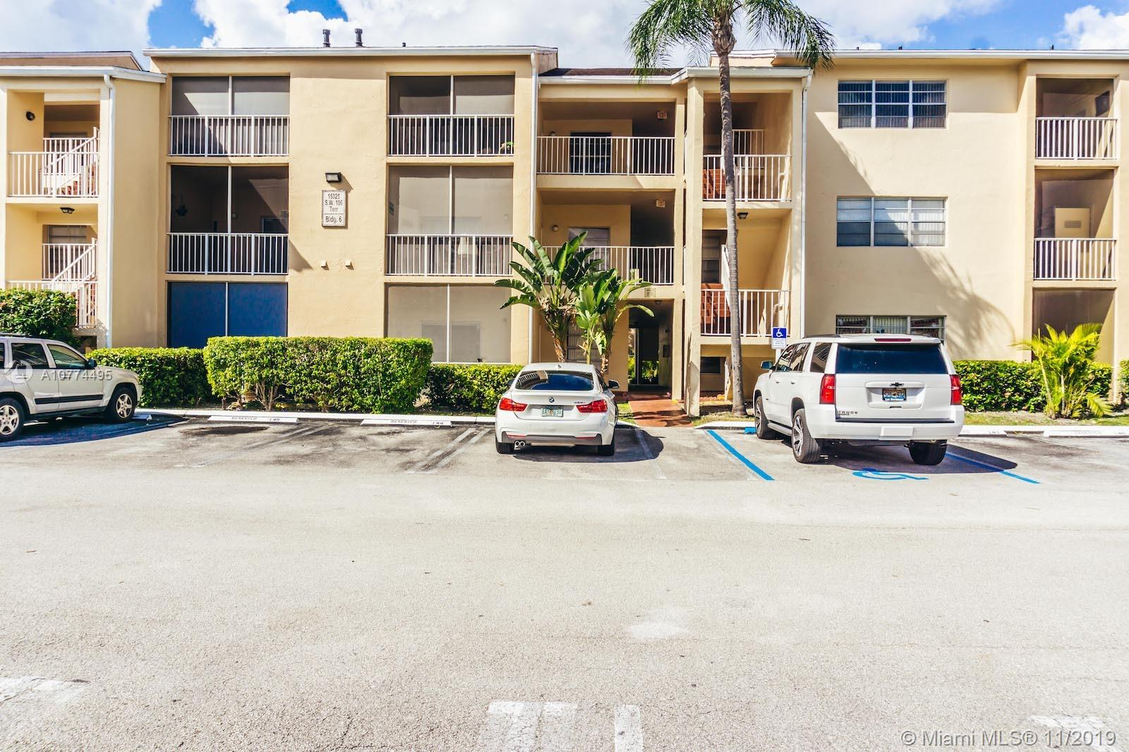 15325 SW 106th Ter #602 For Sale A10774495, FL