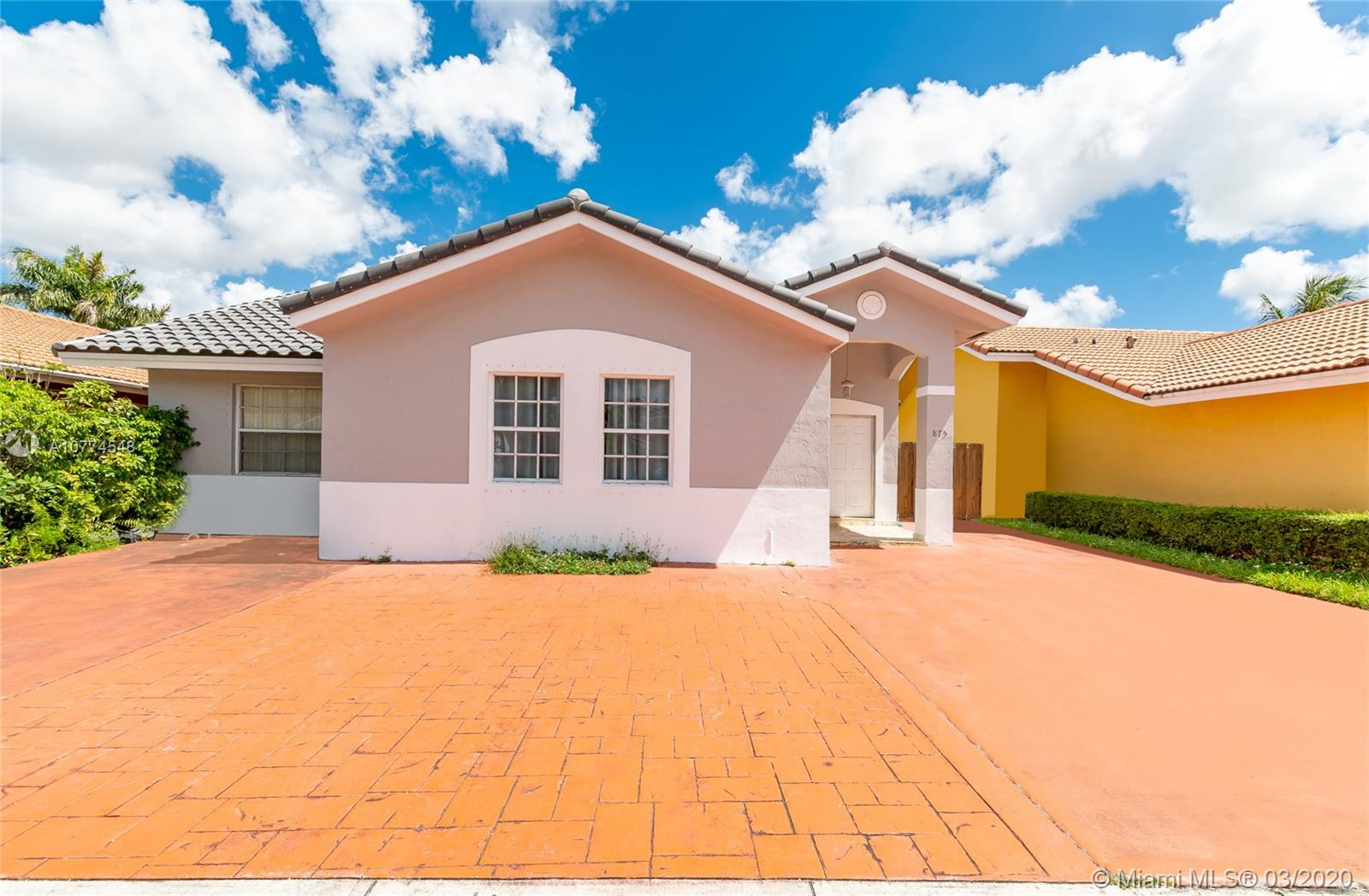 875 NW 128TH PLACE  For Sale A10774548, FL