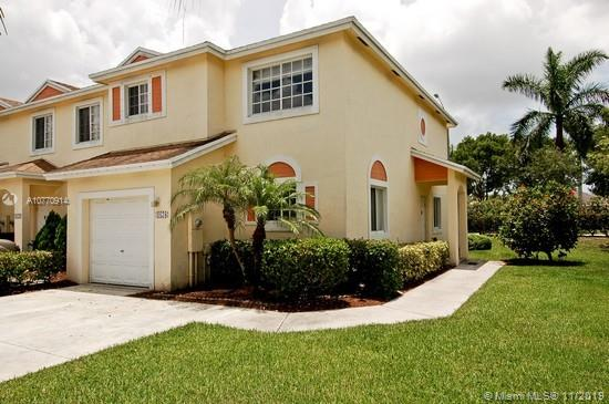 """SPACIOUS CORNER TOWNHOME OFFERING 3 BEDROOM (ALL UPSTAIRS), 2.5 BATHS & 1 CAR GARAGE COMPLETE WITH A WIDER DRIVEWAY TO PARK TWO CARS. LOCATED IN THE PRISTINE GATED COMMUNITY OF """"THE WATERWAYS"""" IN DEERFIELD BEACH WITH 5 START AMENITIES FOR EVERYONE TO ENJOY. NO REAR NEIGHBORS SCREENED IN PATIO W/SECURE STORAGE AREA. FOR YOUR CONVENIENCE THE WASHER & DRYER ARE LOCATED ON THE SECOND FLOOR.  COMMUNITY AMENITIES INCLUDES: FITNESS CENTER, TWO POOLS, JACUZZI, TENNIS COURTS, VOLLEYBALL & BASKETBALL COURTS, TWO KIDS PLAY AREAS, PICNIC & BBQ AREA,  AND TWO CLUBHOUSES. 24 HOUR GUARD GATED. GREAT LOCATION CLOSE TO SAWGRASS EXPRESSWAY AND THE TURNPIKE. 20 MINUTES TO THE BEACH. SHOPS & RESTAURANTS NEARBY! PETS OK!"""
