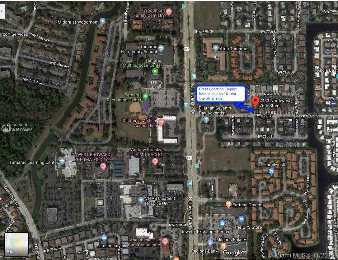 7431 NW 76th St, Tamarac, FL 33321