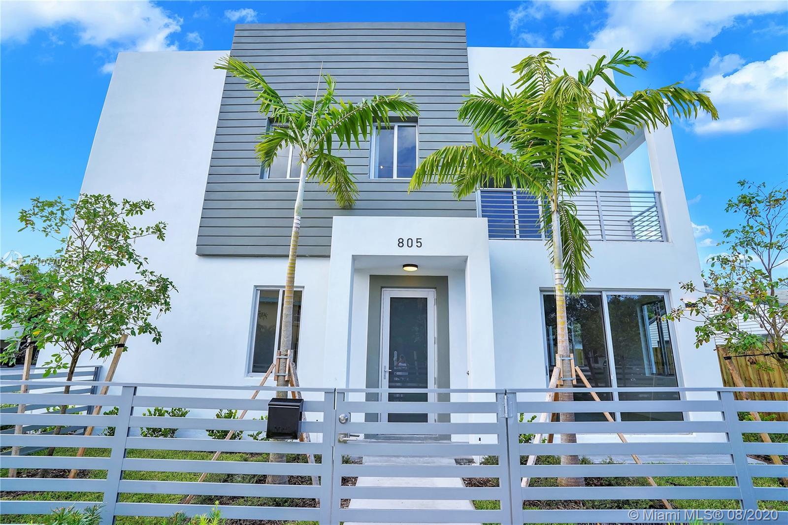 Newest townhouse in Fort Lauderdale can now be yours! 1922 SF under air. This will be a townhouse community of 4 units. 3 bedrooms, 2.5 bathrooms, 2 car garage, private backyard, beautiful finishes and layout. A great room with open layout and kitchen island. 3 bedrooms on 2nd floor. Garage, living room, powder room, dinning room and kitchen on first floor. Interior pictures are for idea purposes, layout and finishes might be slightly different. Estimated completion September 2020.