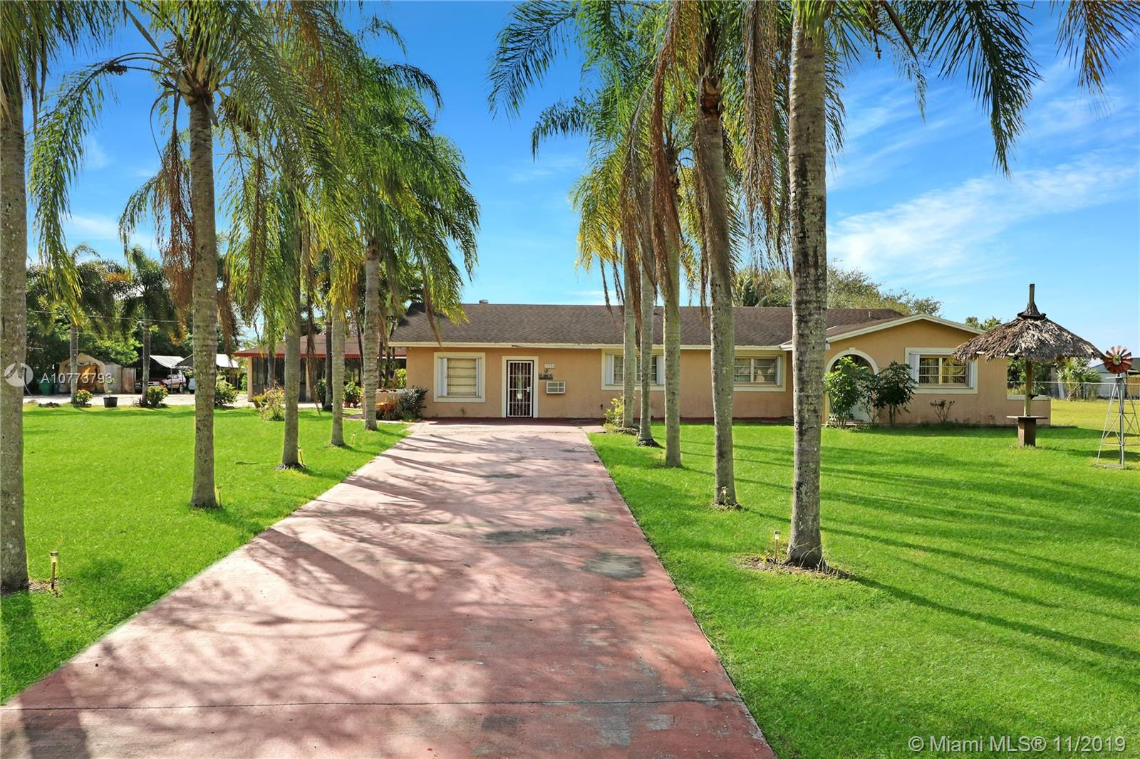 17750 SW 272nd St  For Sale A10773793, FL